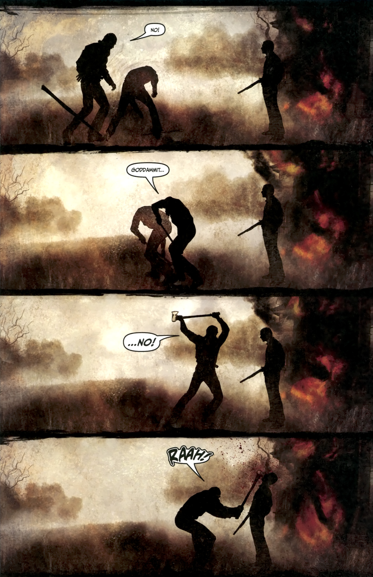 Read online Silent Hill: Past Life comic -  Issue #4 - 15