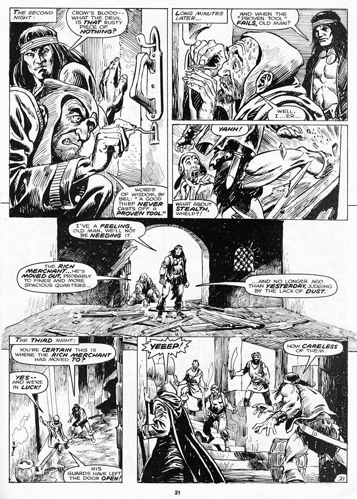 The Savage Sword Of Conan Issue #180 #181 - English 23