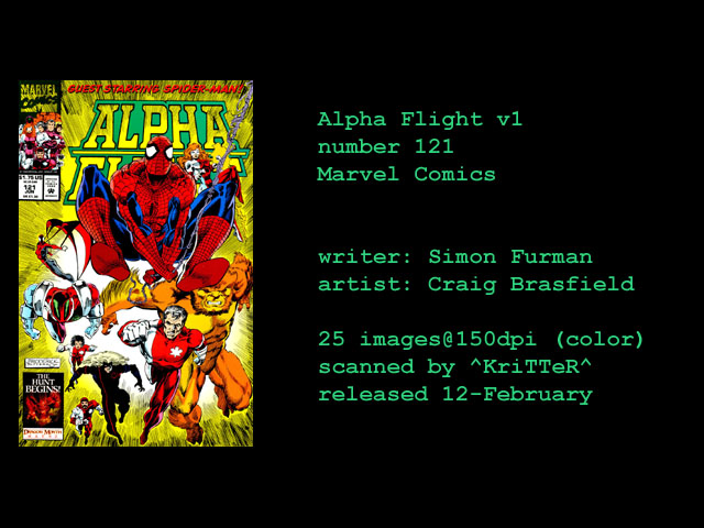 Alpha Flight (1983) 121 Page 1