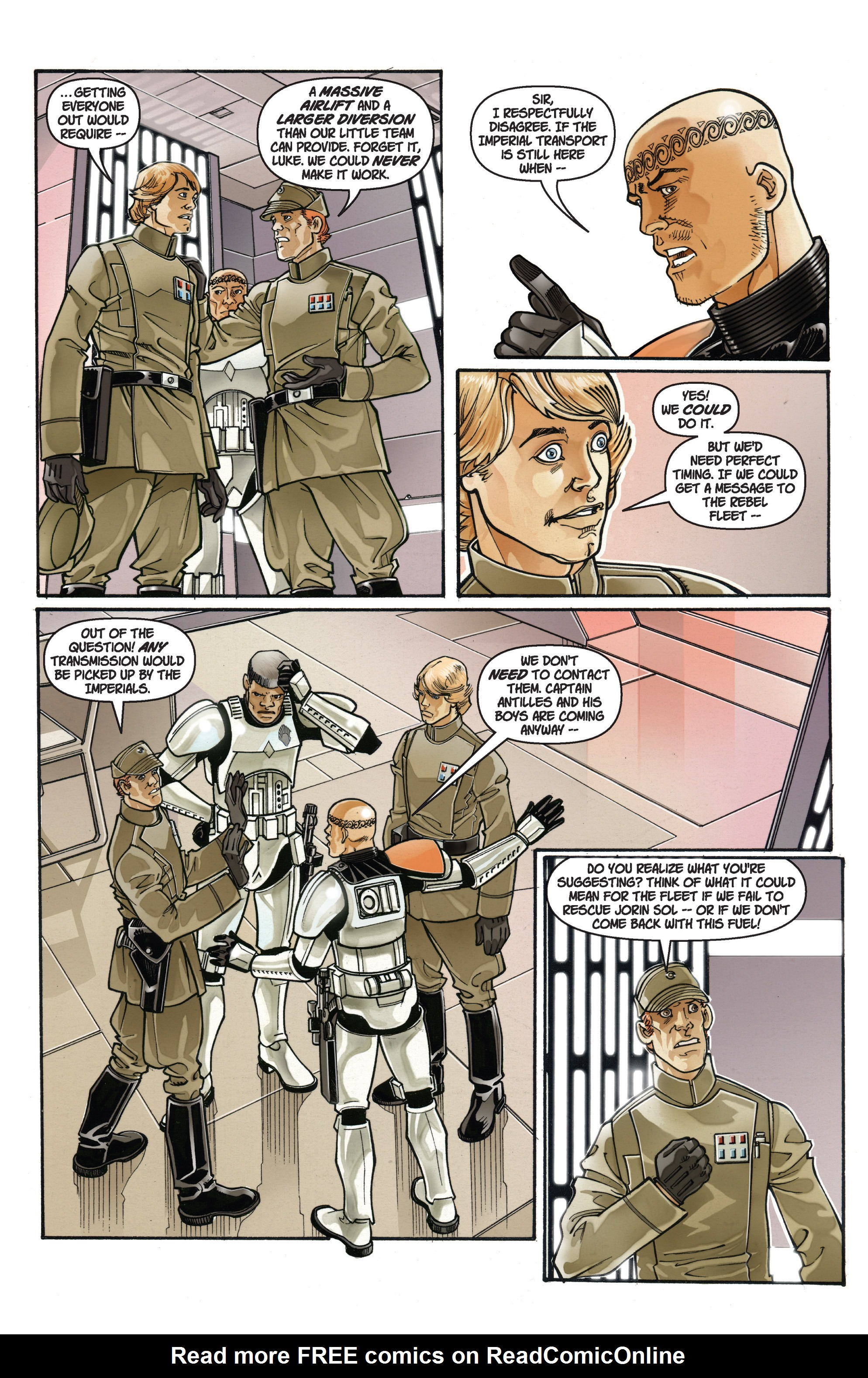 Read online Star Wars: Empire comic -  Issue #38 - 14