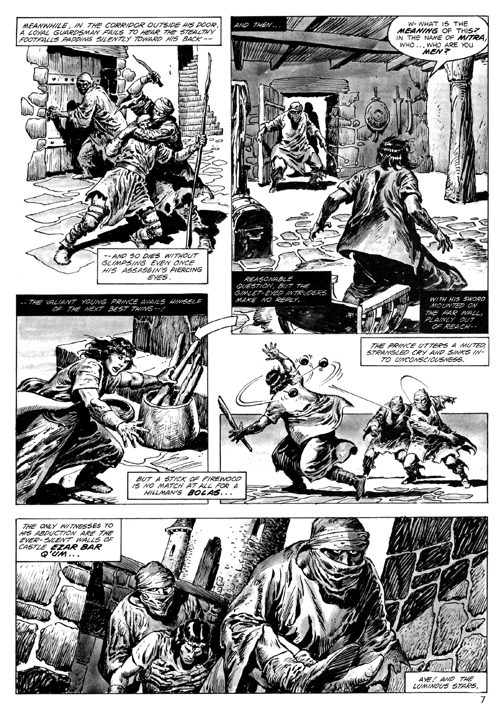 The Savage Sword Of Conan Issue #71 #72 - English 7