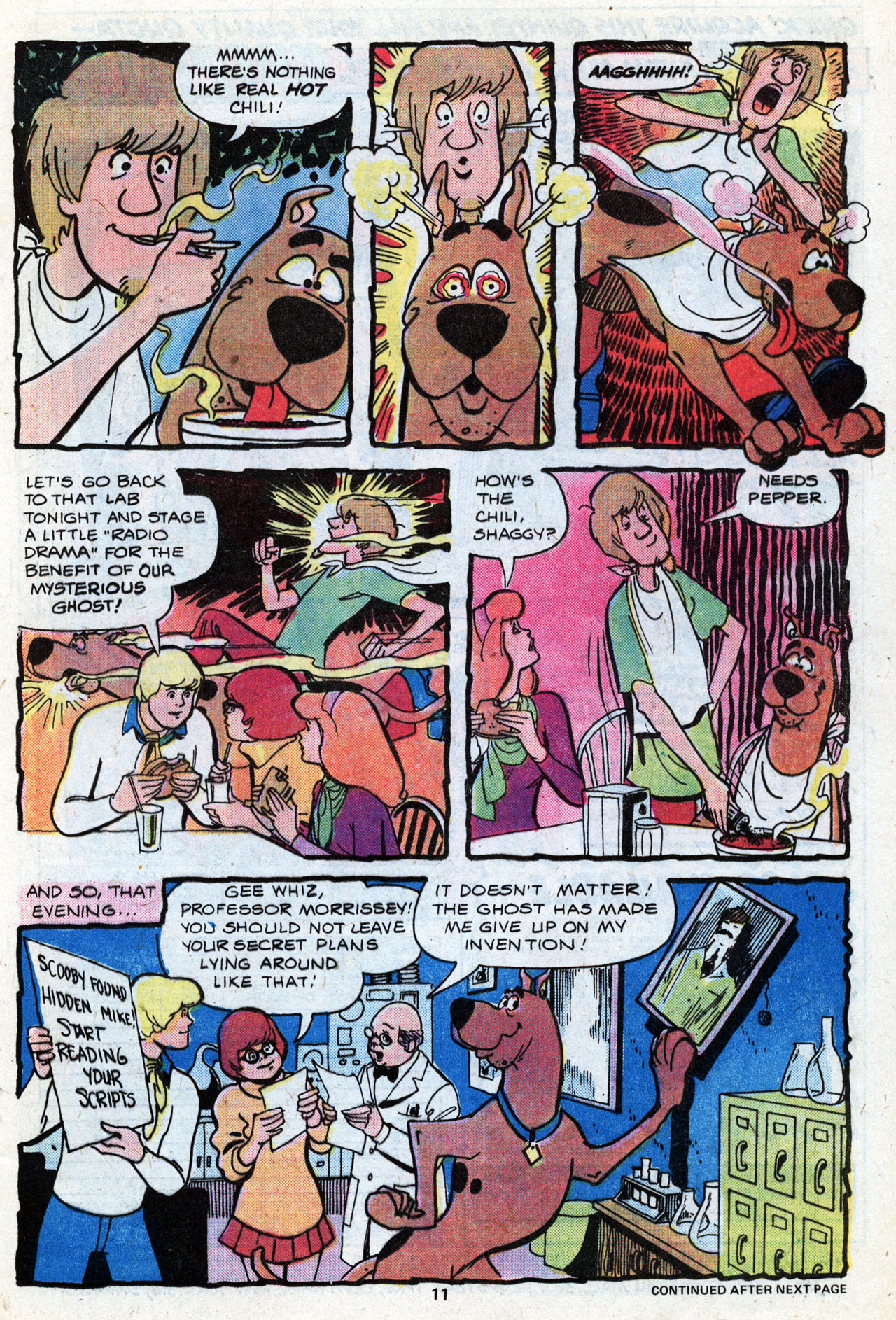 Read online Scooby-Doo (1977) comic -  Issue #7 - 13