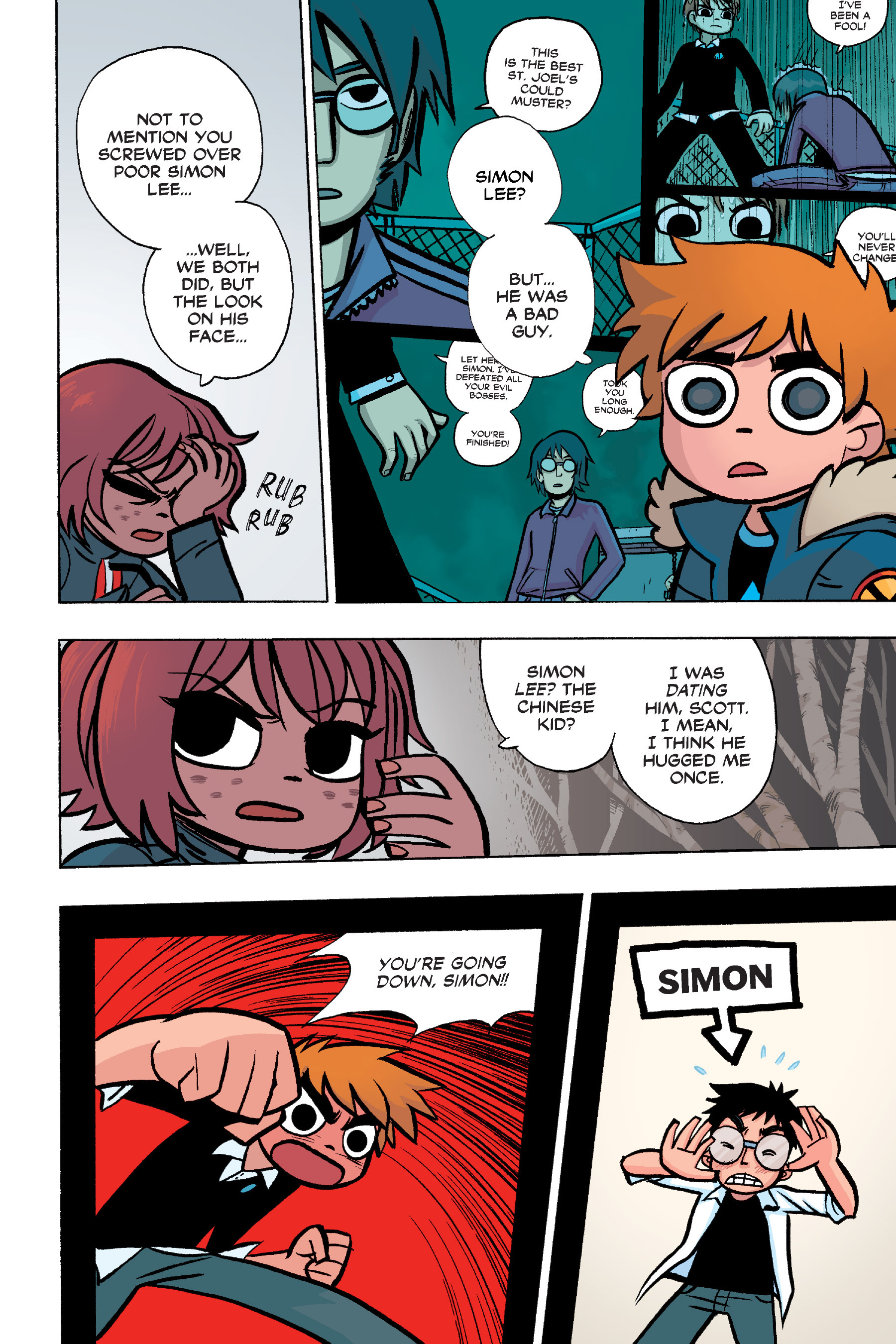 Read online Scott Pilgrim comic -  Issue #6 - 73