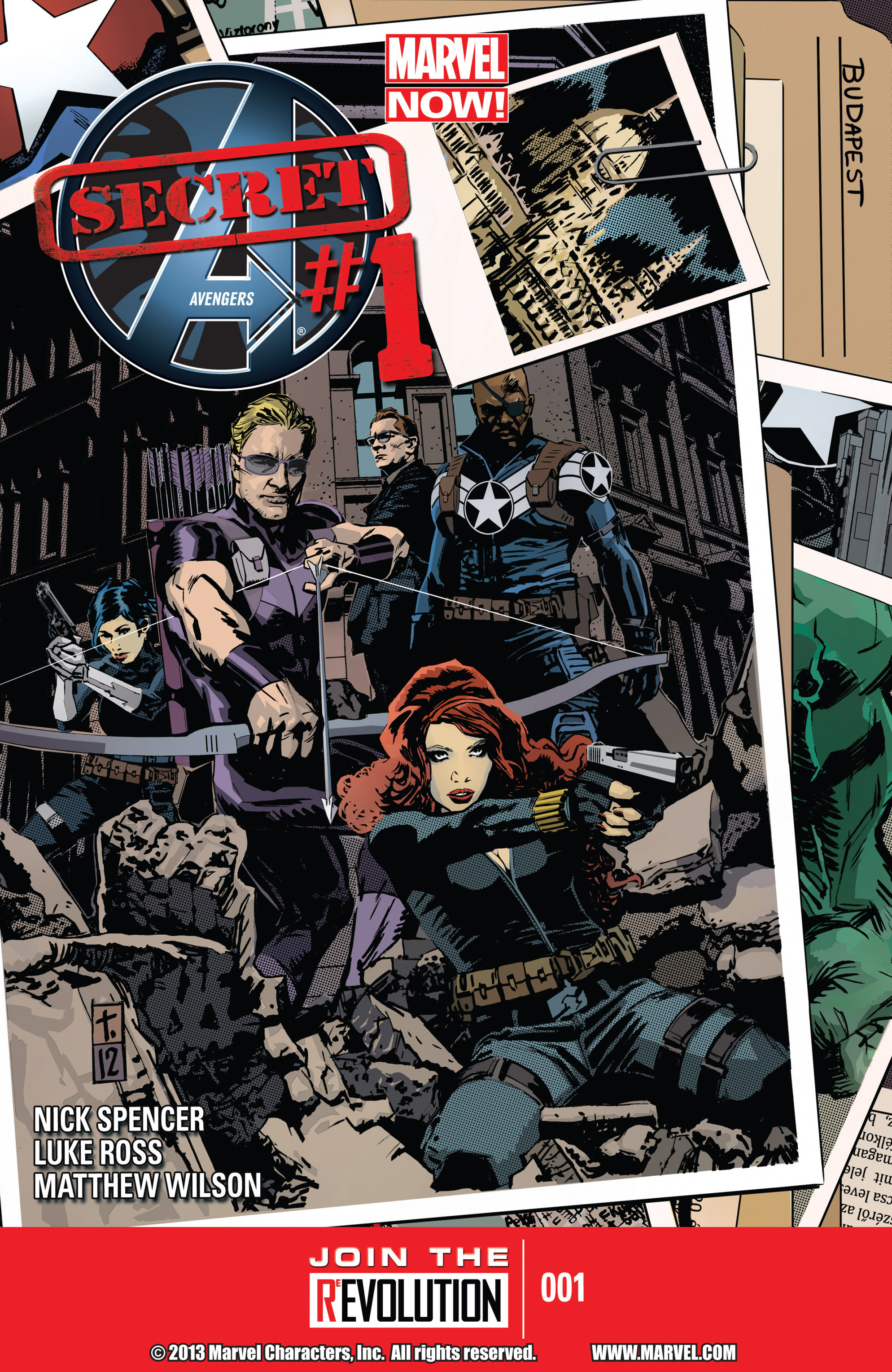 Read online Secret Avengers (2013) comic -  Issue #1 - 1