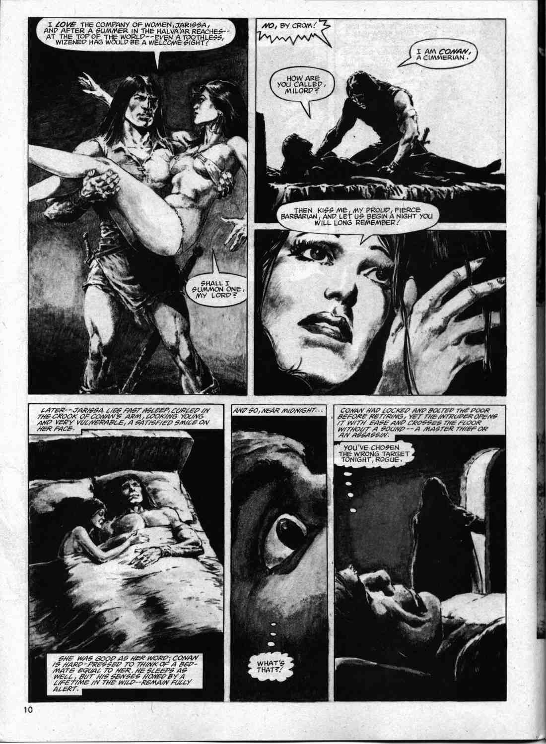 The Savage Sword Of Conan Issue #74 #75 - English 9