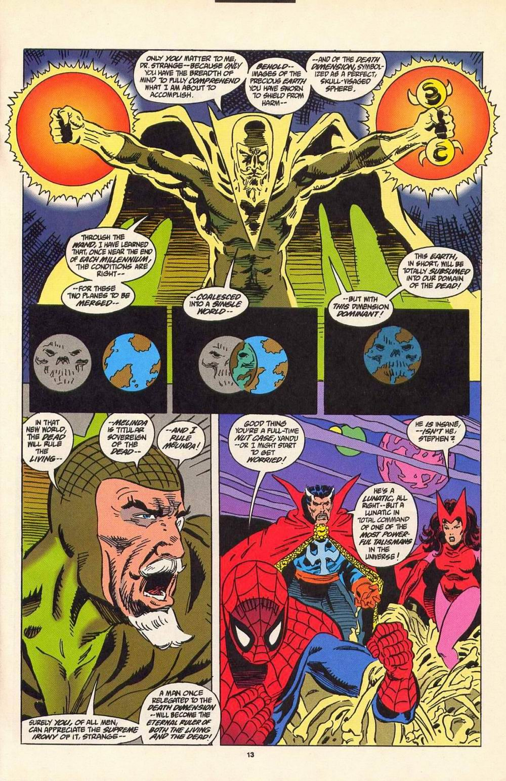 Read online Secret Defenders comic -  Issue #7 - 8