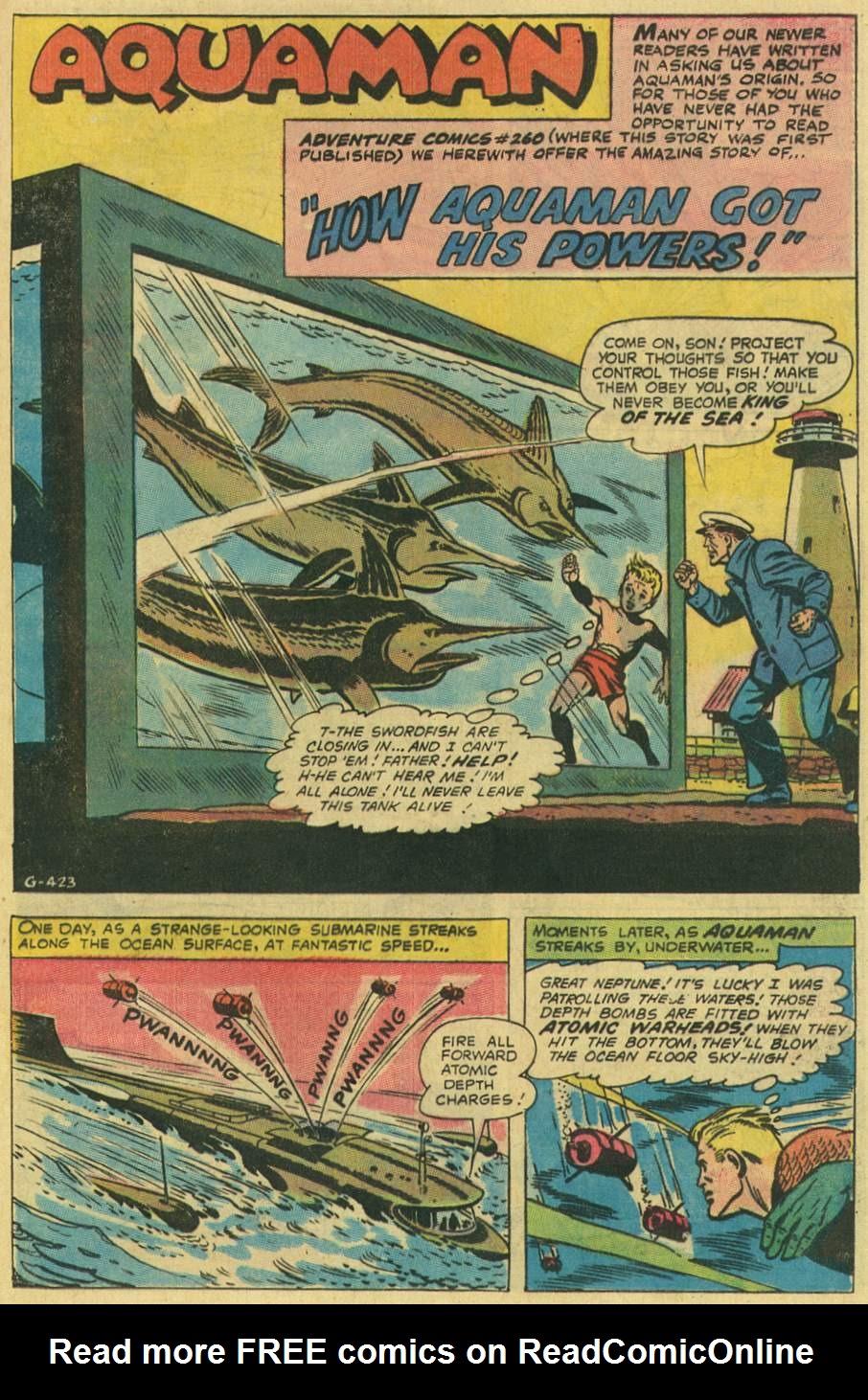 Aquaman (1962) Issue #48 #48 - English 25