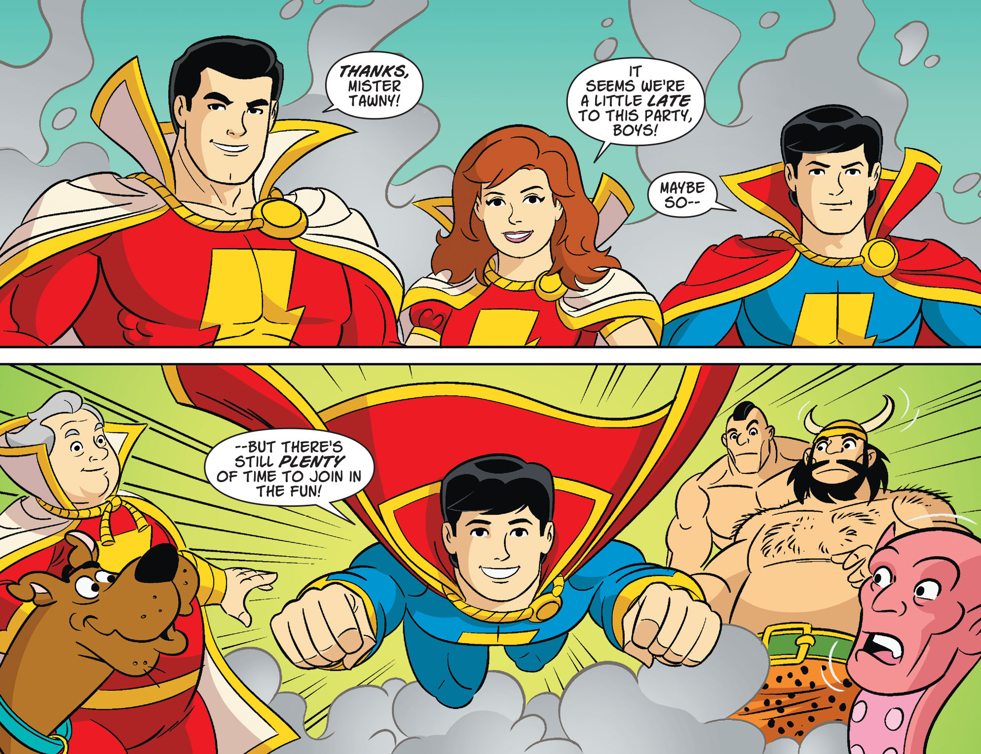 Read online Scooby-Doo! Team-Up comic -  Issue #32 - 12