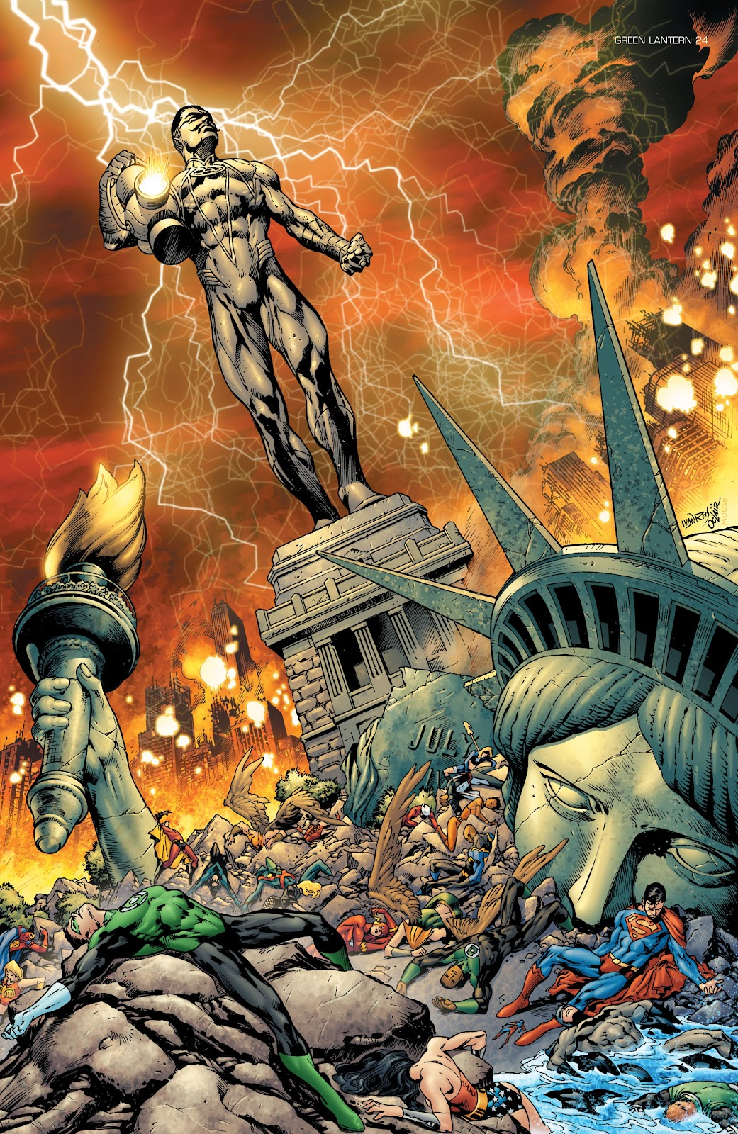 Green Lantern: The Sinestro Corps War Full #1 - English 180