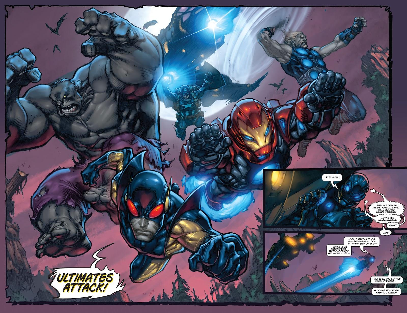Ultimates 3 Issue #5 #5 - English 9