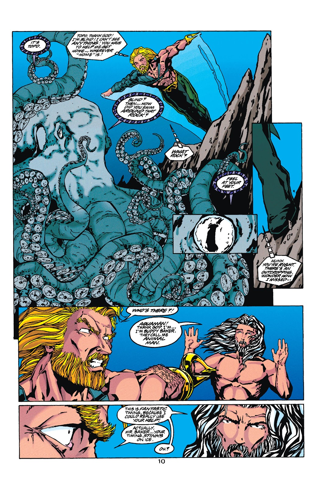 Aquaman (1994) Issue #35 #41 - English 10