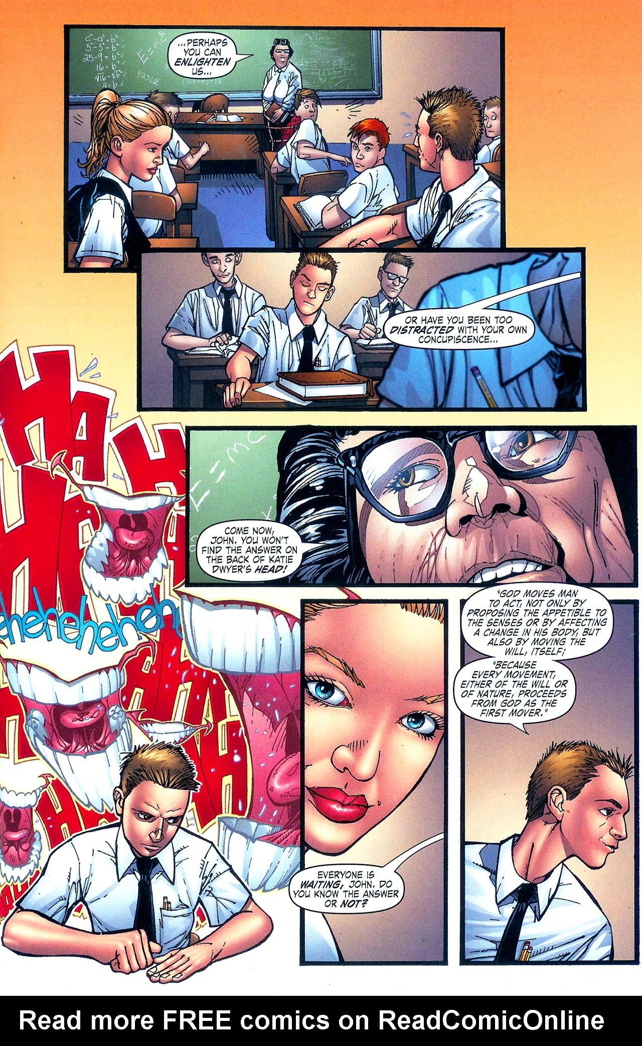 Read online Se7en comic -  Issue #5 - 9