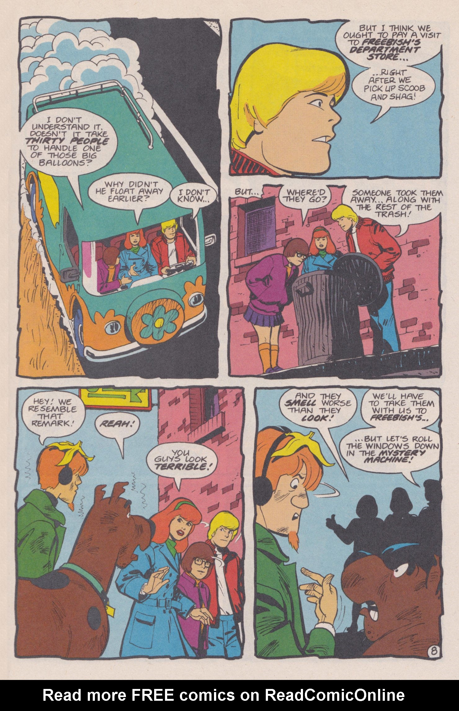 Read online Scooby-Doo (1995) comic -  Issue #14 - 9