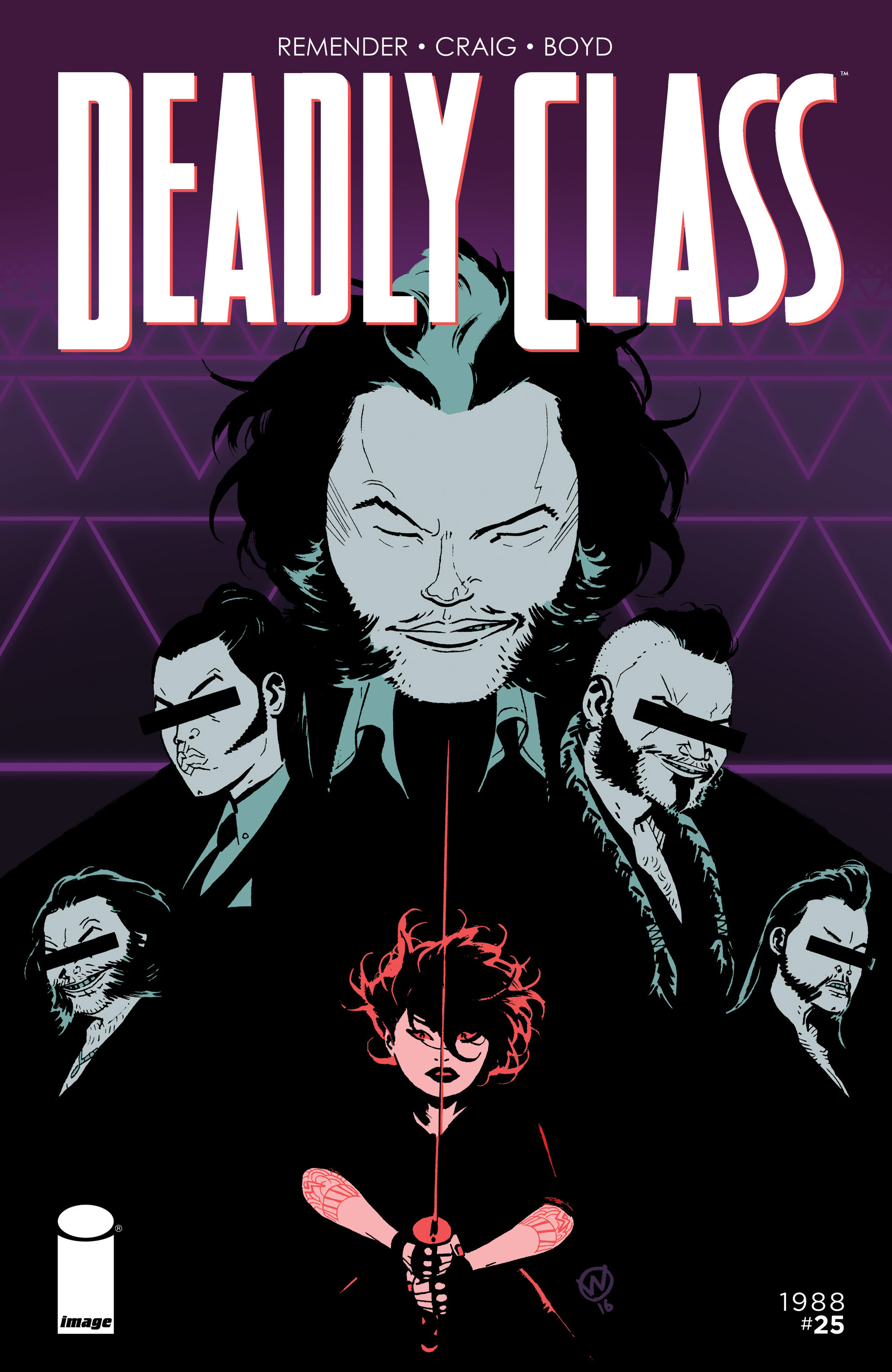 Read online Deadly Class comic -  Issue #25 - 1