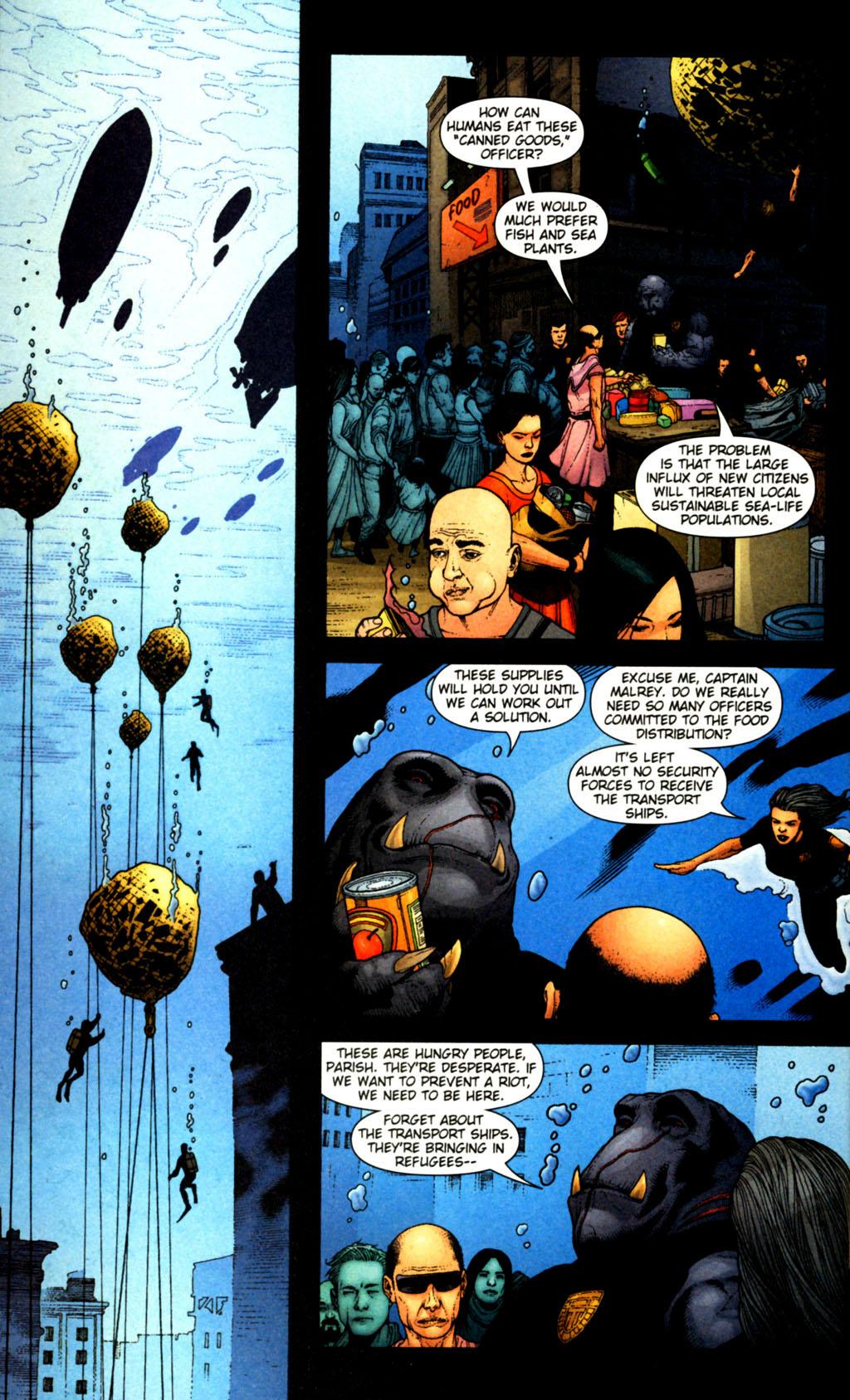Read online Aquaman (2003) comic -  Issue #38 - 14