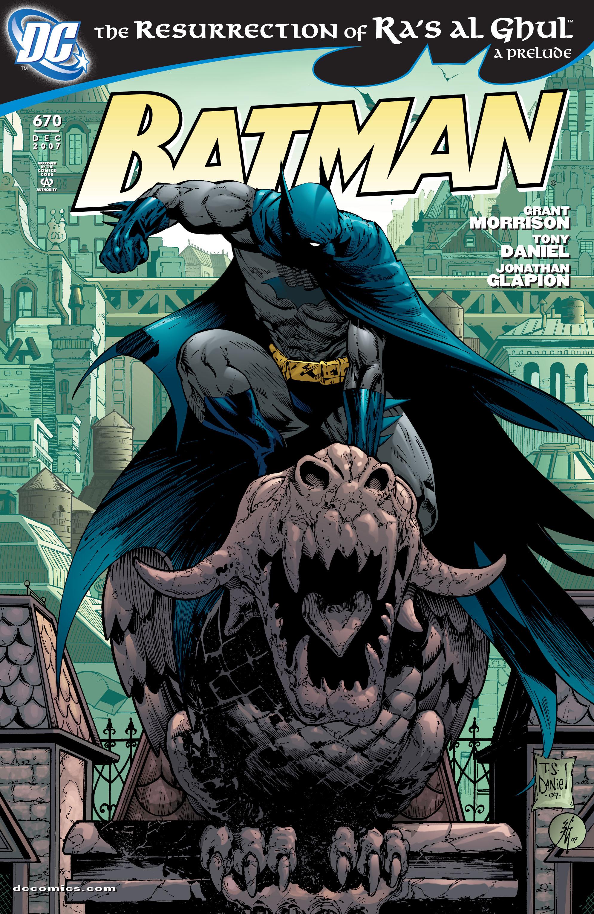 Batman (1940) 670 Page 1