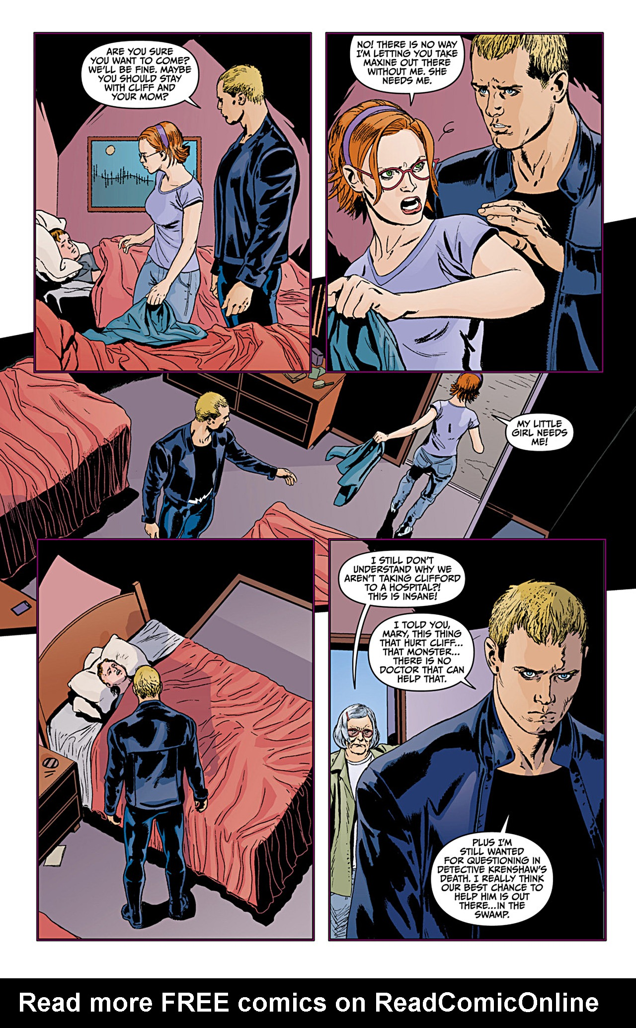 Read online Animal Man (2011) comic -  Issue #12 - 3