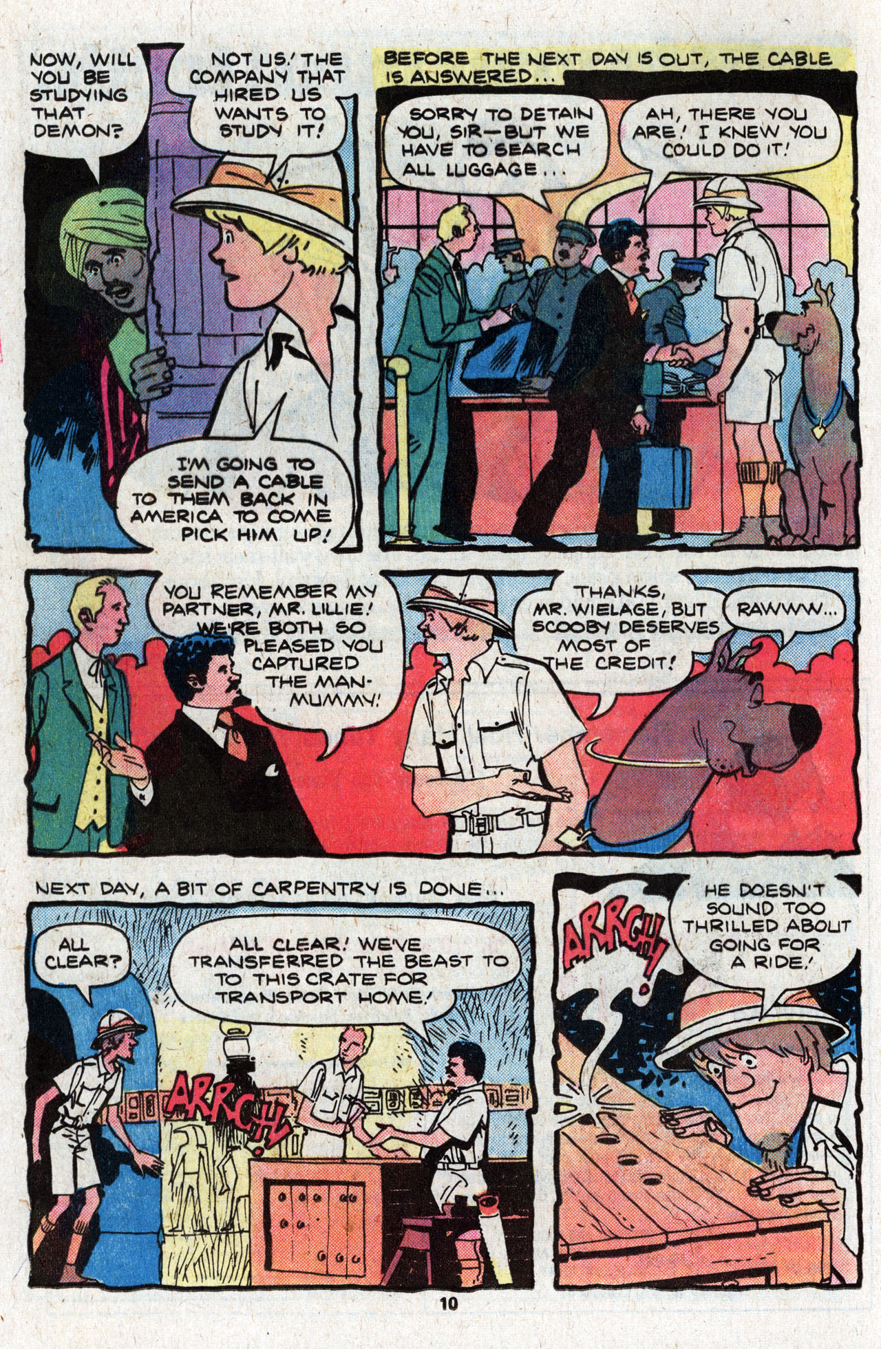 Read online Scooby-Doo (1977) comic -  Issue #4 - 12