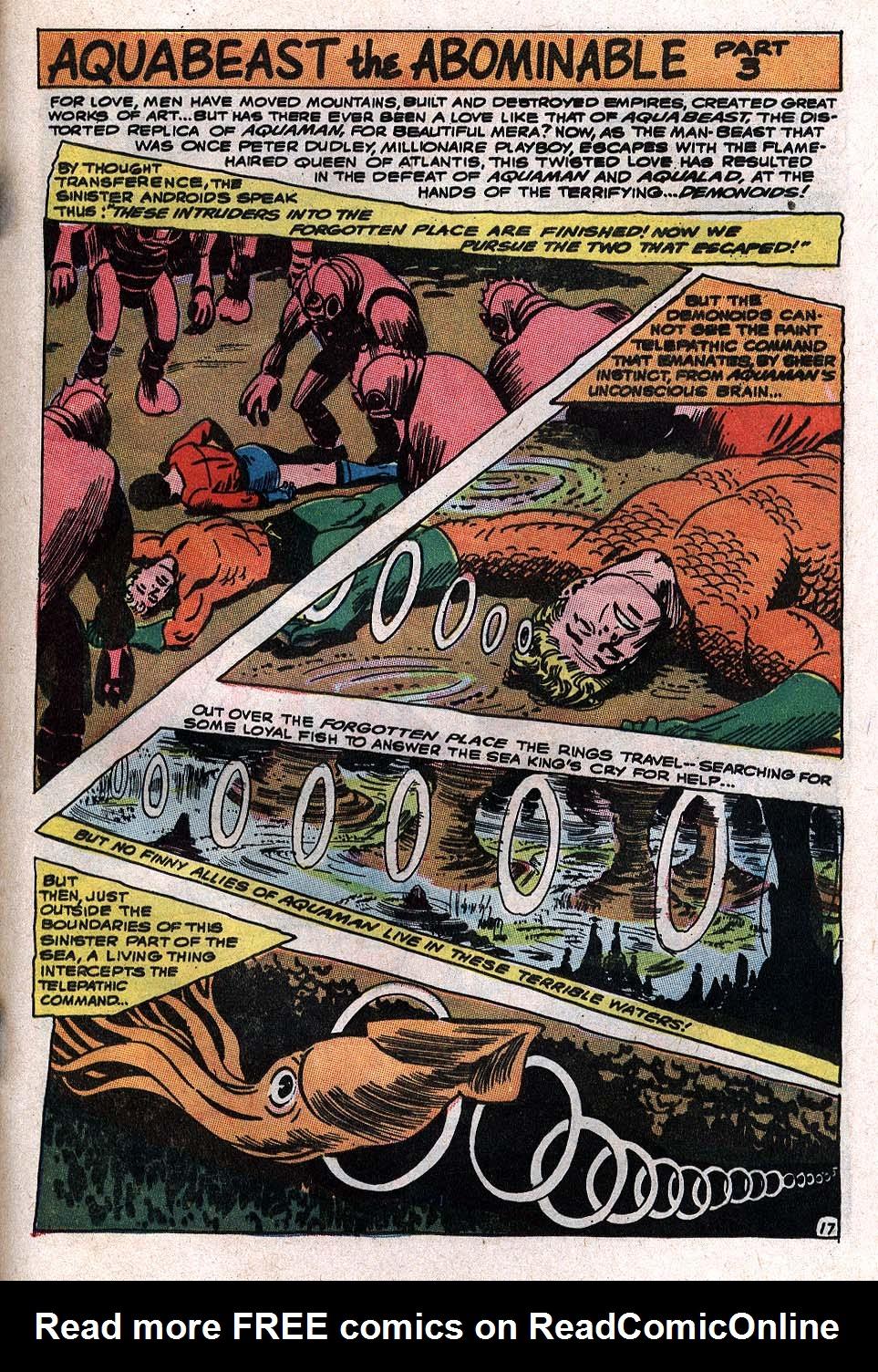 Aquaman (1962) Issue #34 #34 - English 25