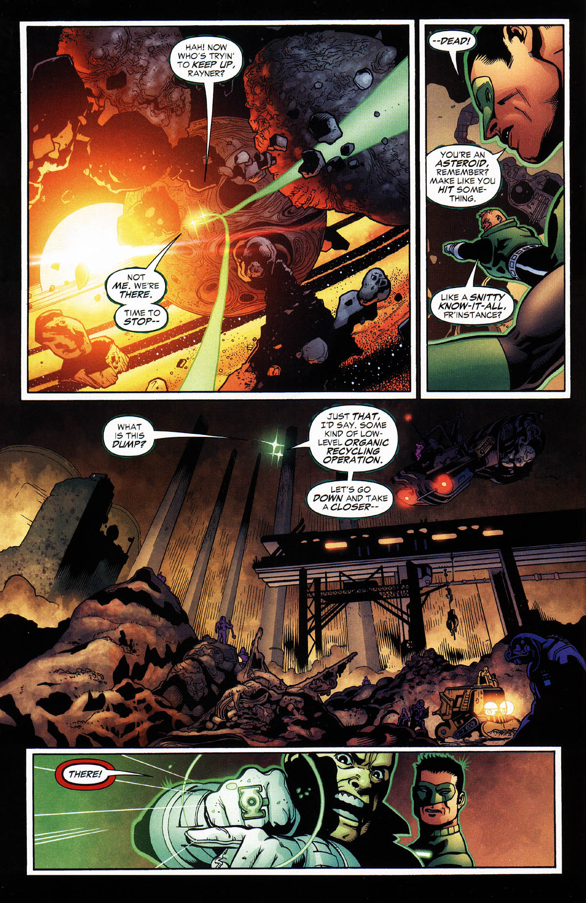 Read online Green Lantern Corps: Recharge comic -  Issue #3 - 6