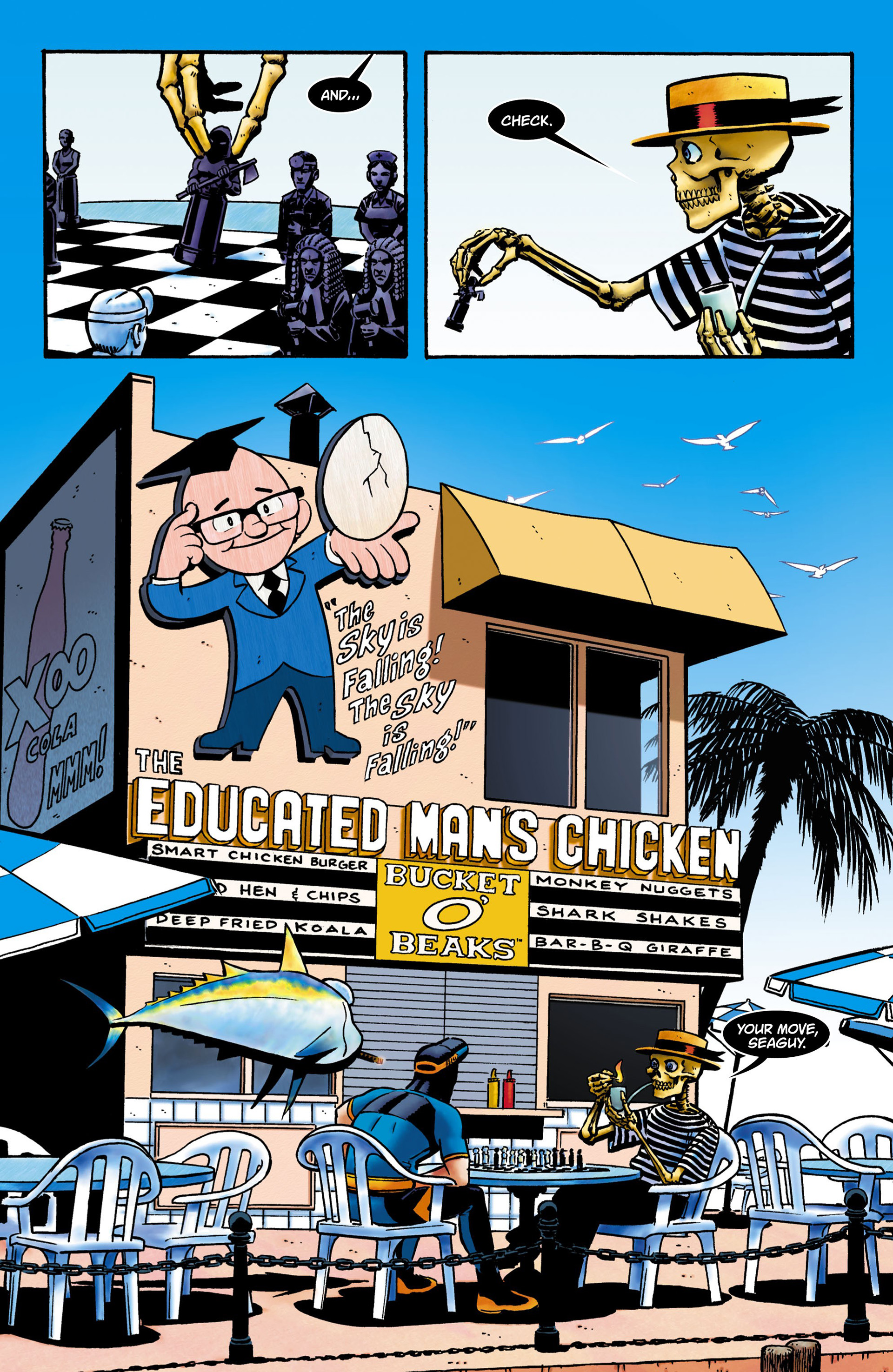 Read online Seaguy comic -  Issue #1 - 2
