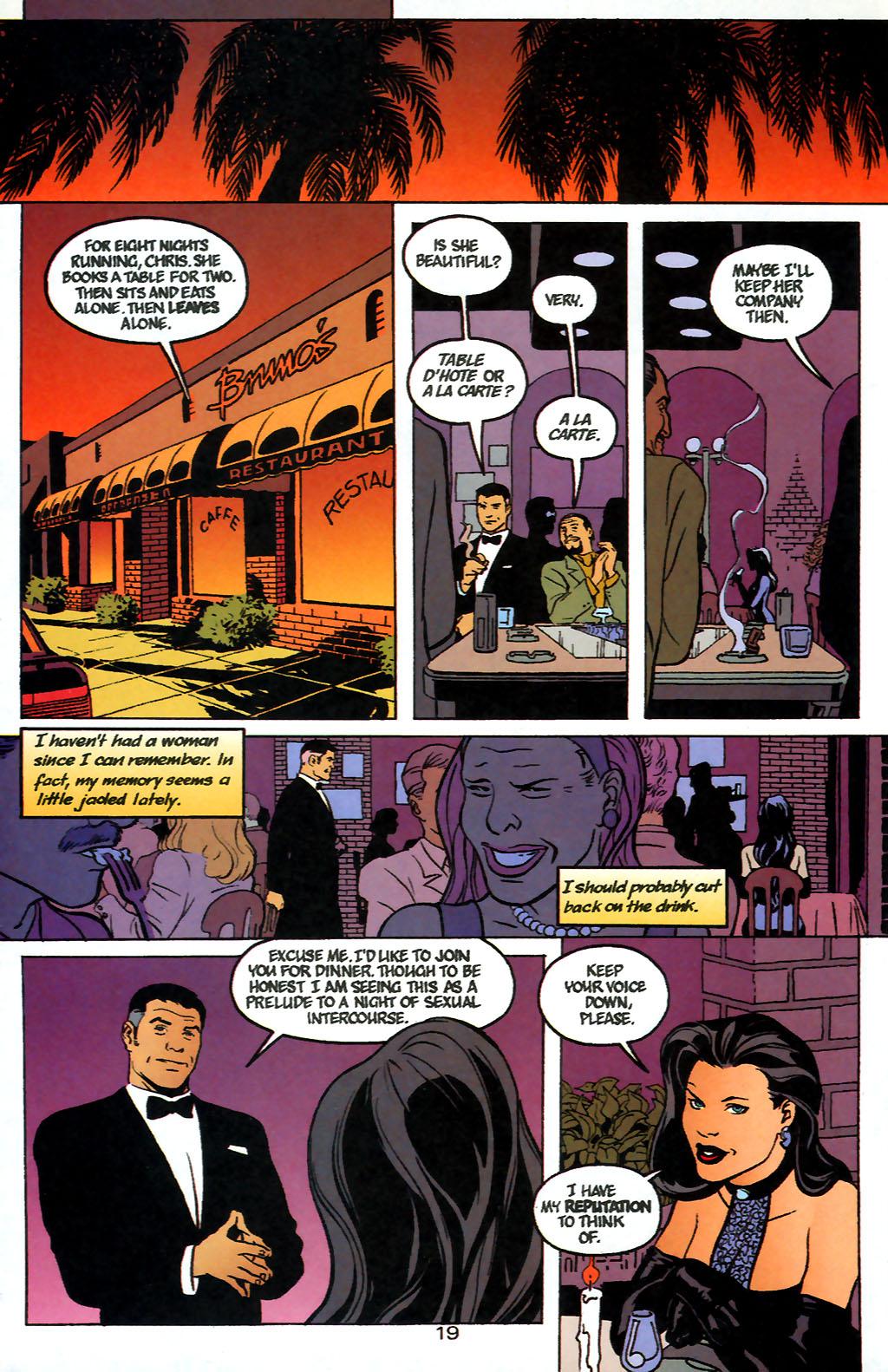 Human Target (1999) 1 Page 19
