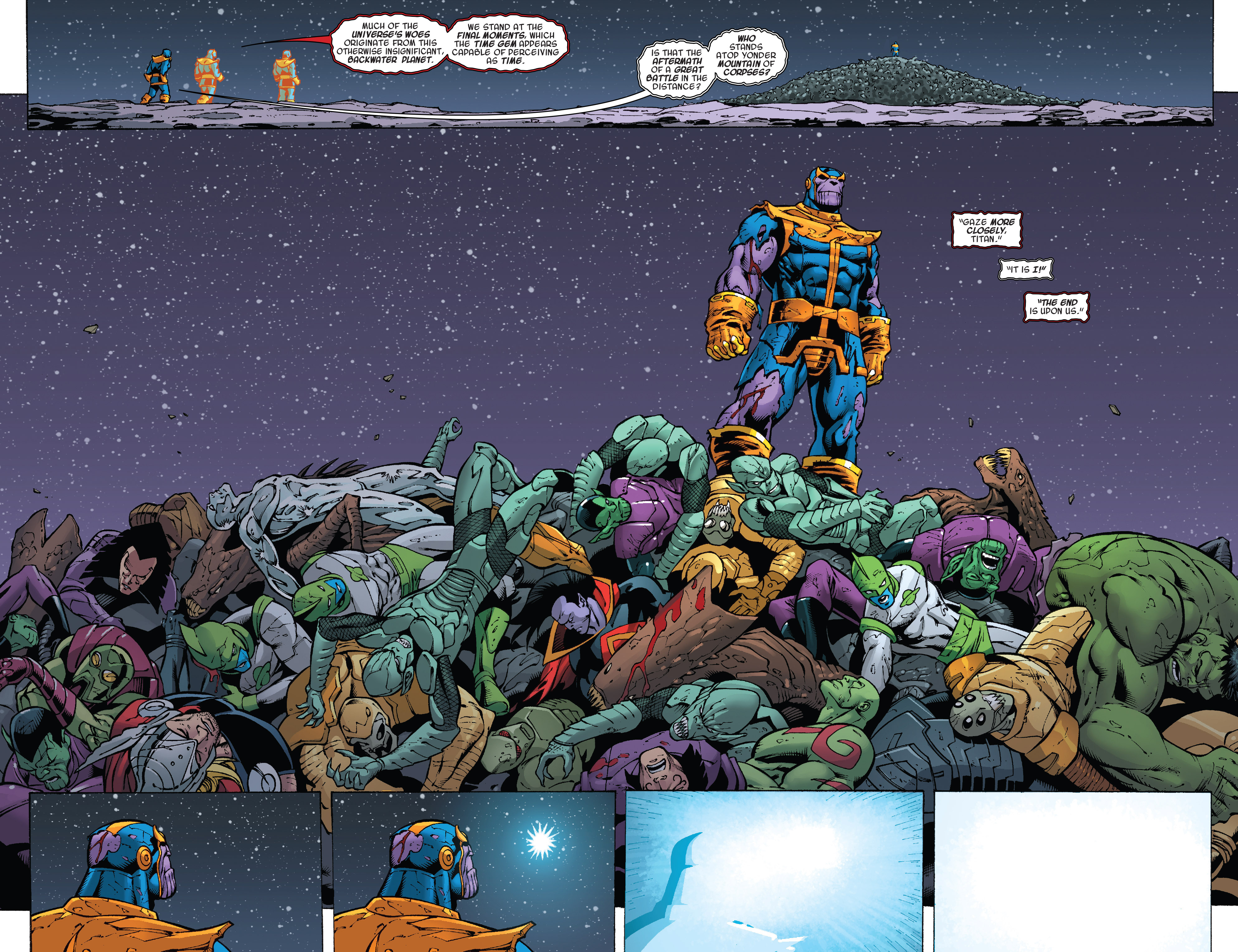 Read online Thanos Annual comic -  Issue # Annual - 26