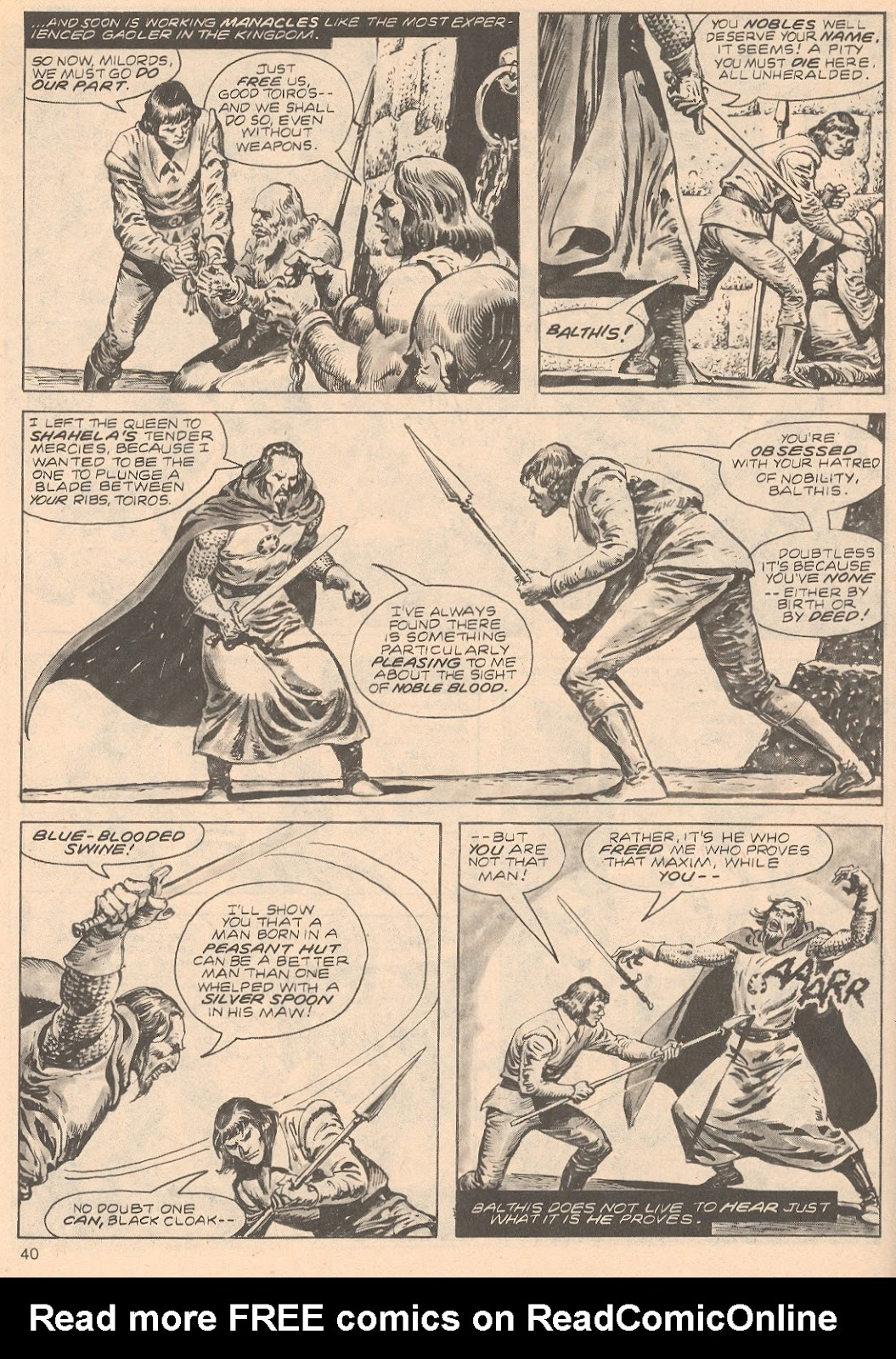 The Savage Sword Of Conan Issue #68 #69 - English 40
