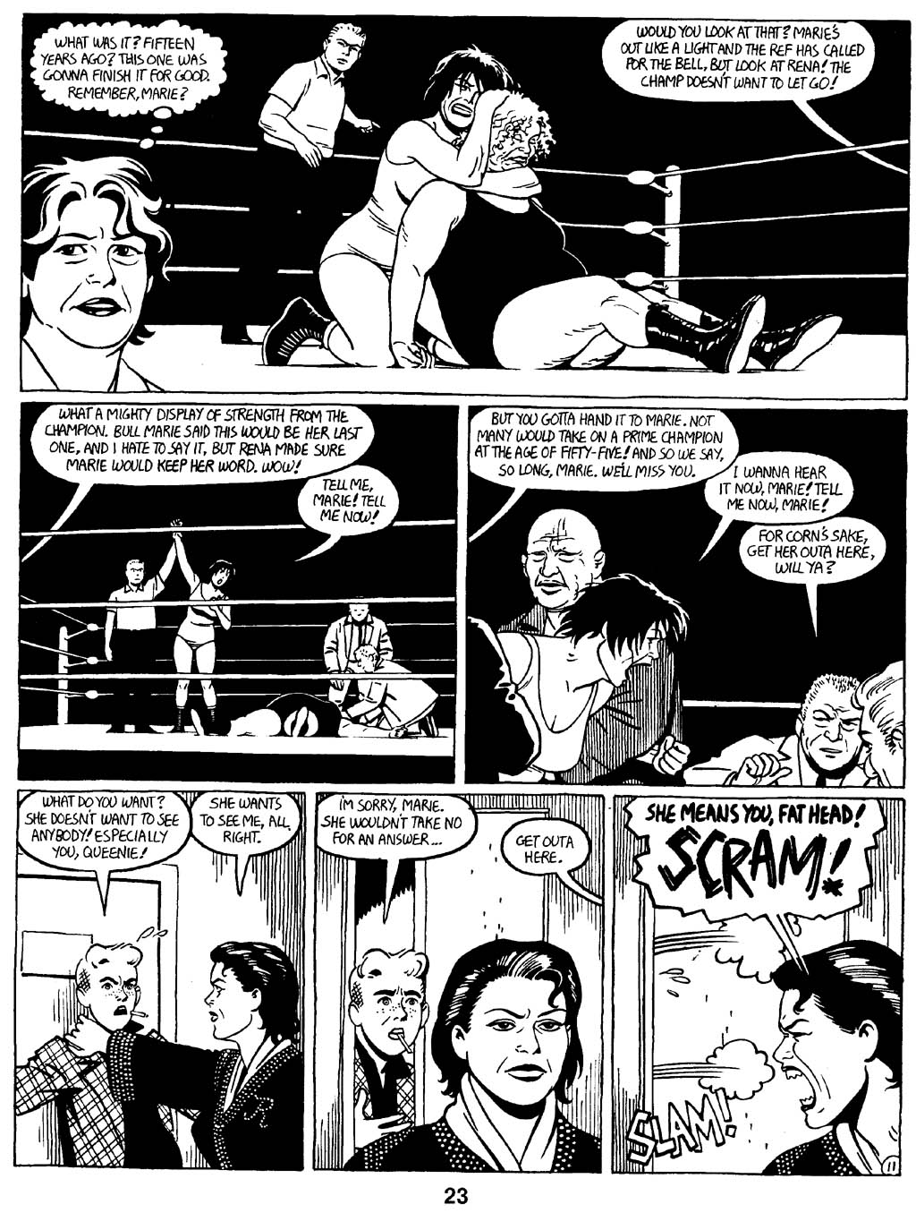 Love and Rockets (1982) Issue #16 #15 - English 25