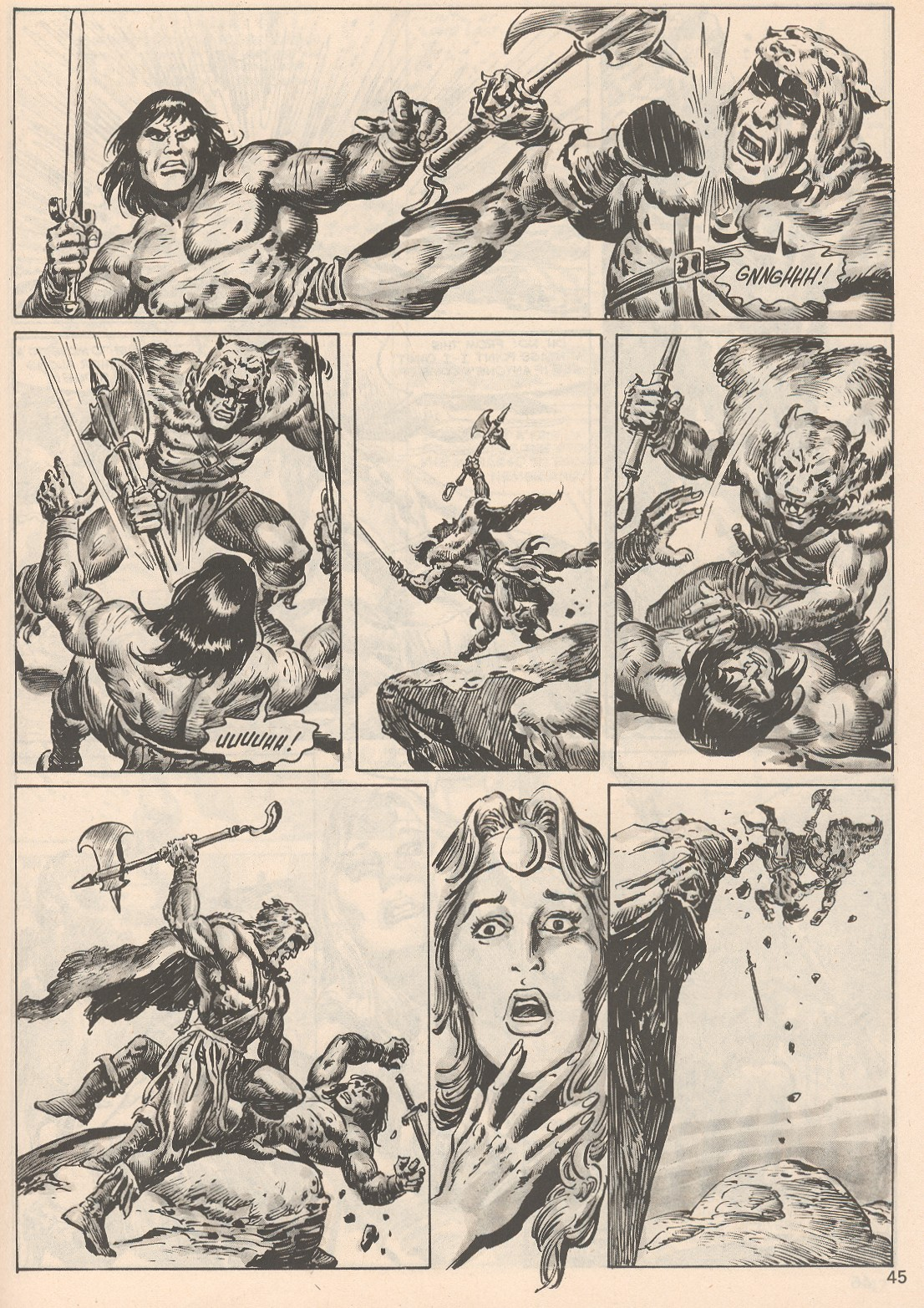 The Savage Sword Of Conan Issue #104 #105 - English 45