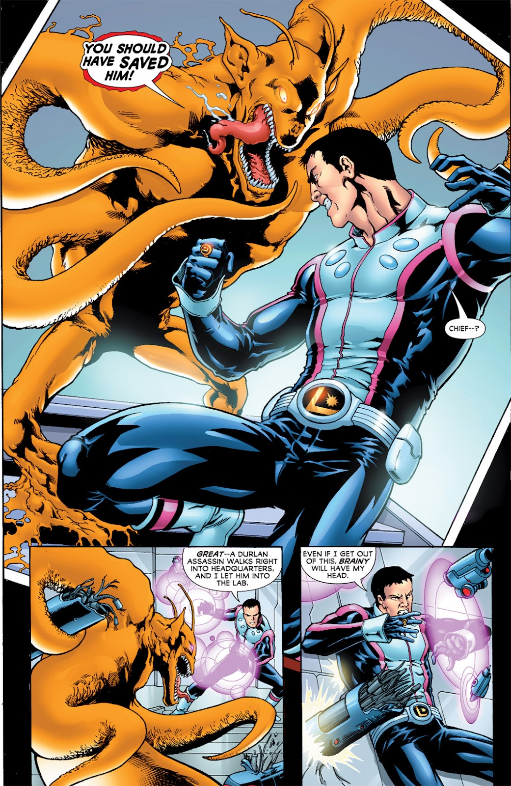 Legion of Super-Heroes (2010) Issue #8 #9 - English 18
