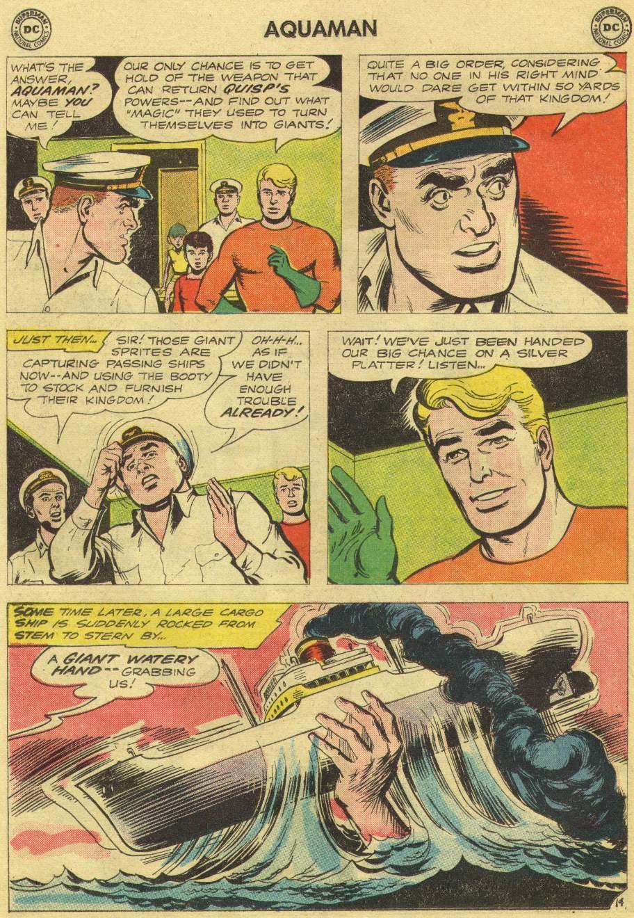 Aquaman (1962) Issue #10 #10 - English 18