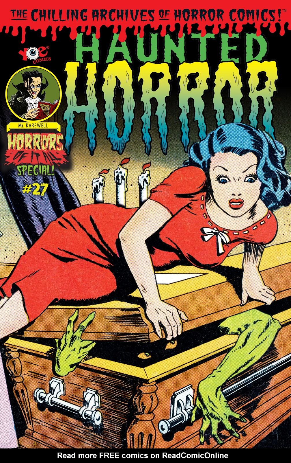 Haunted Horror Issue #27 #27 - English 1