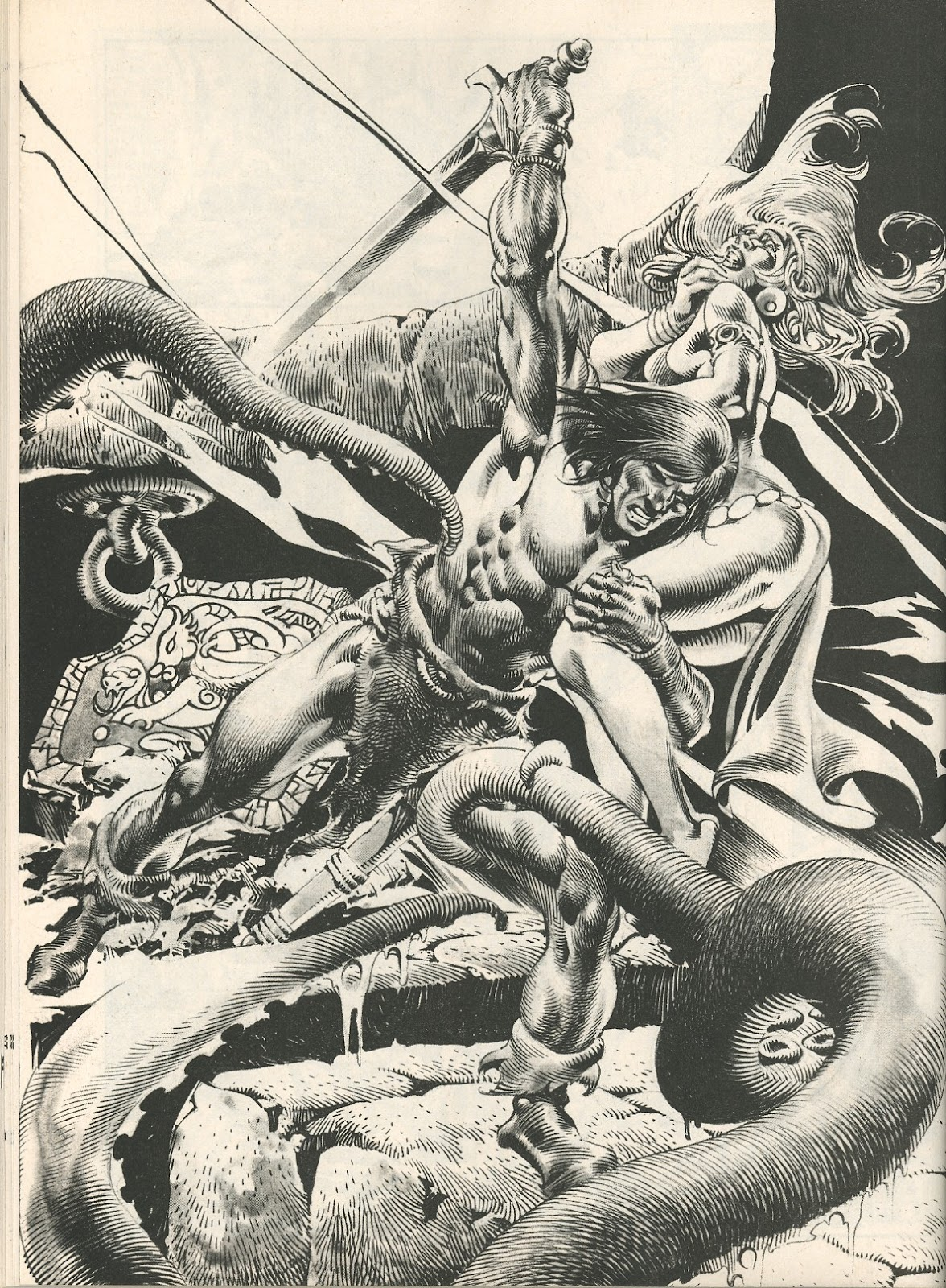 The Savage Sword Of Conan Issue #107 #108 - English 52