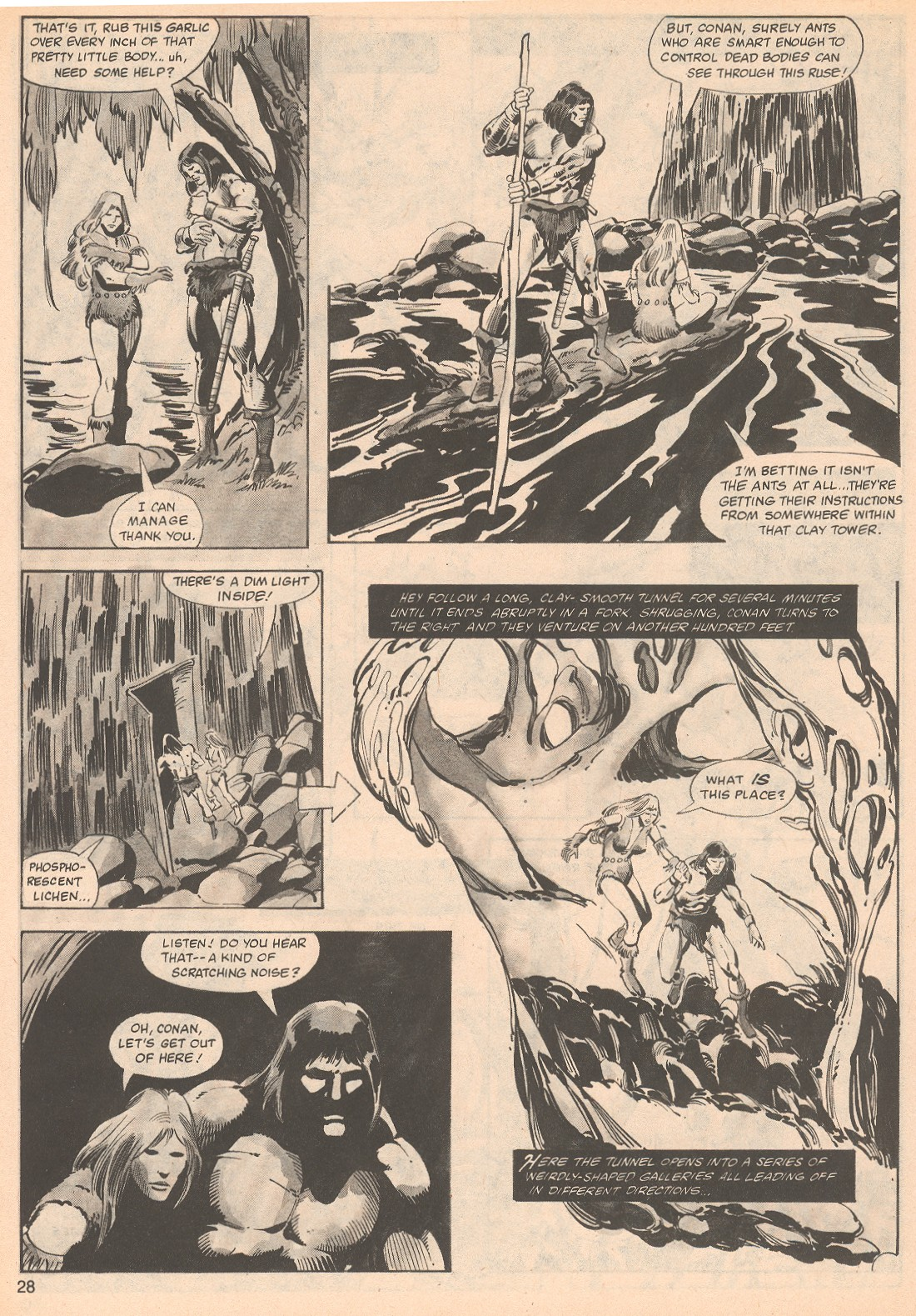 The Savage Sword Of Conan Issue #70 #71 - English 28