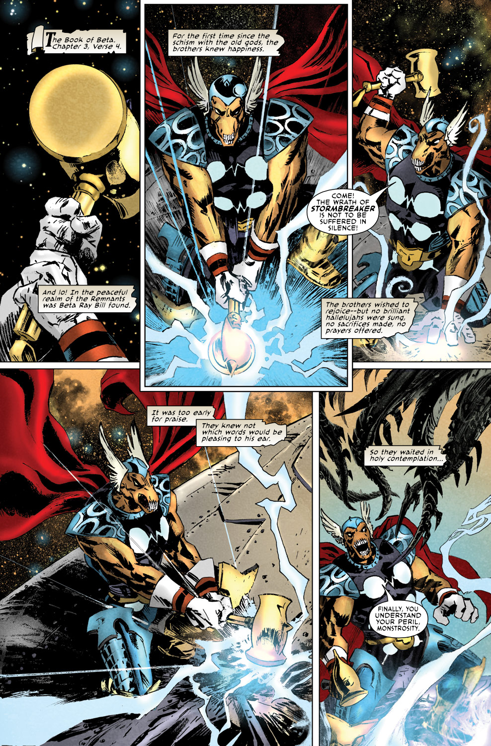 Read online Secret Invasion Aftermath: Beta Ray Bill - The Green of Eden comic -  Issue # Full - 3