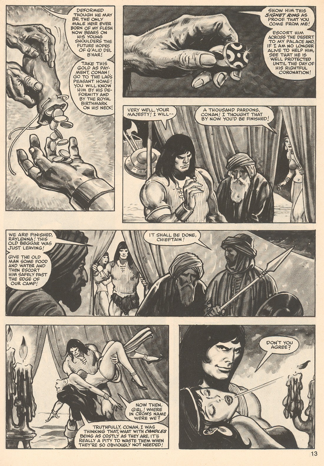 The Savage Sword Of Conan Issue #76 #77 - English 13