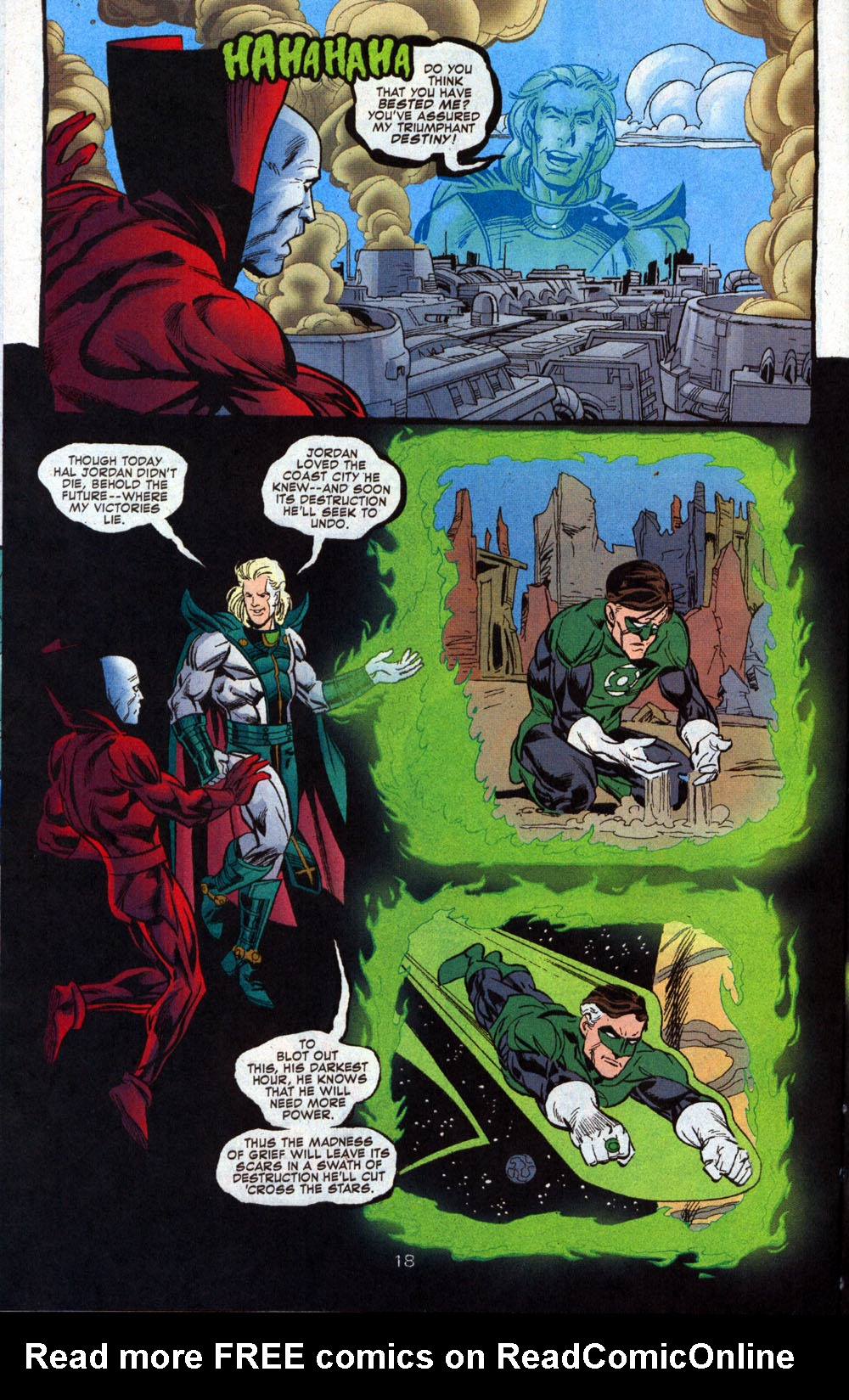 Read online Deadman: Dead Again comic -  Issue #4 - 19