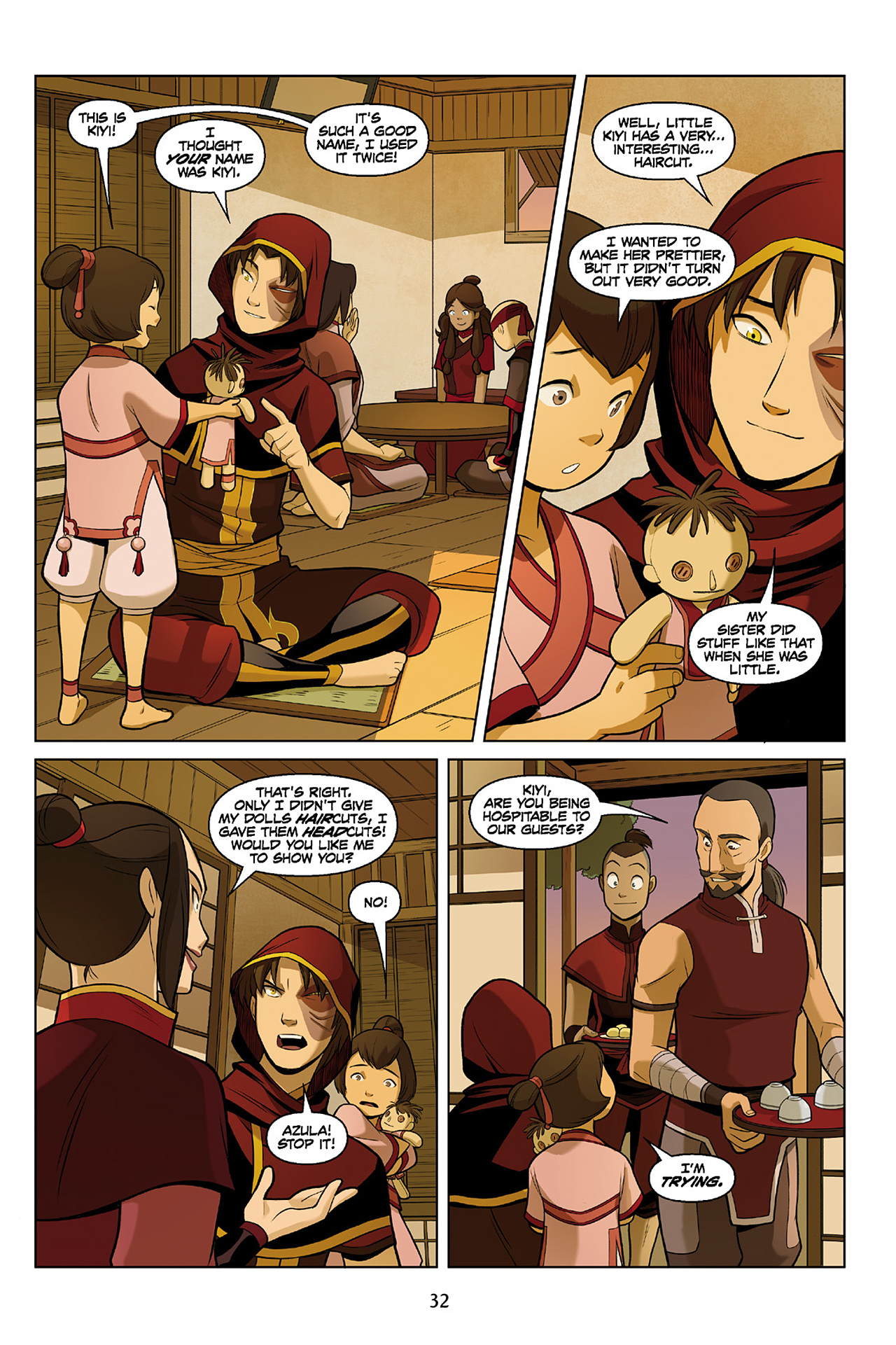 Read online Nickelodeon Avatar: The Last Airbender - The Search comic -  Issue # Part 2 - 33
