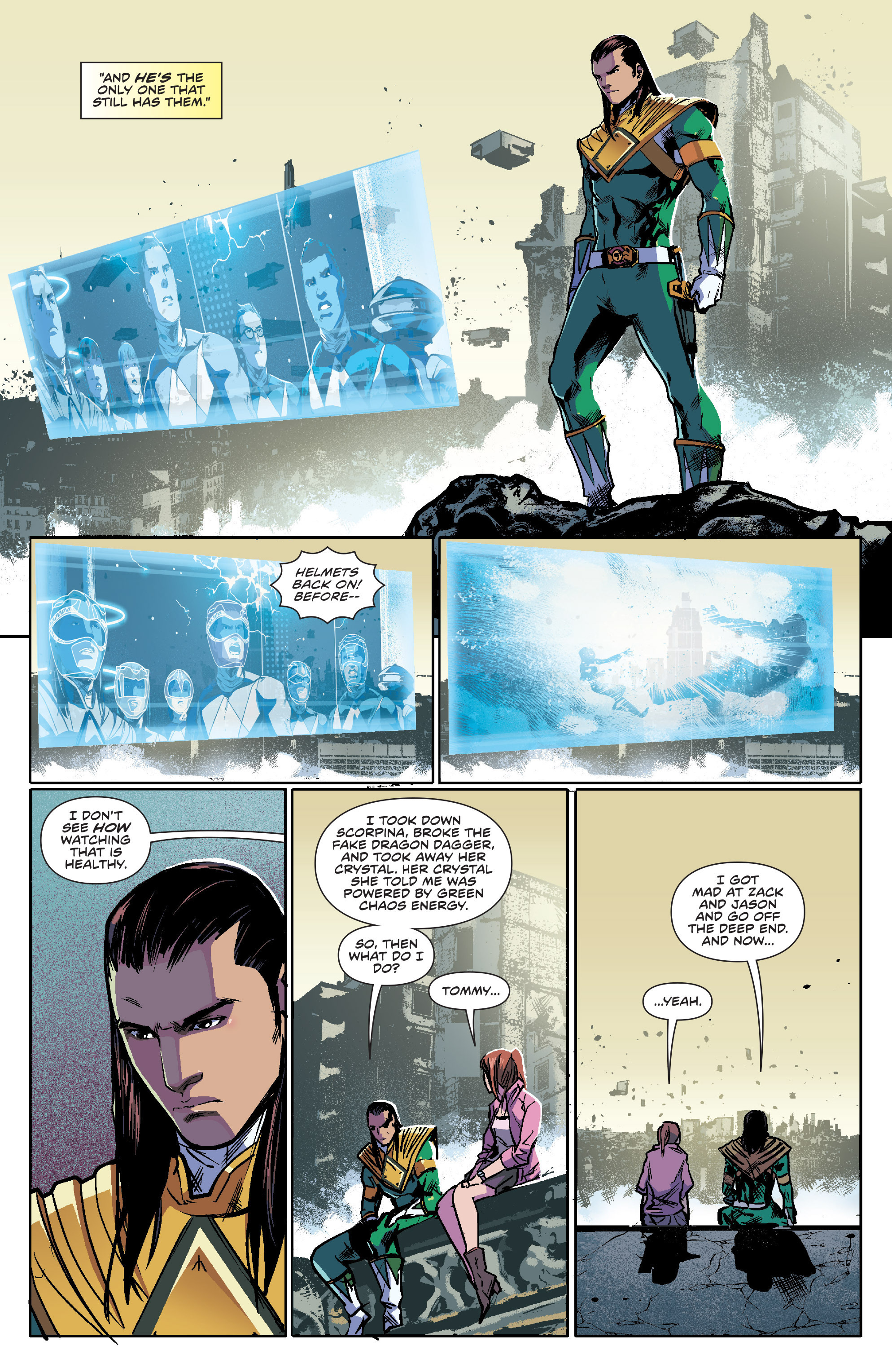 Read online Mighty Morphin Power Rangers comic -  Issue #7 - 9