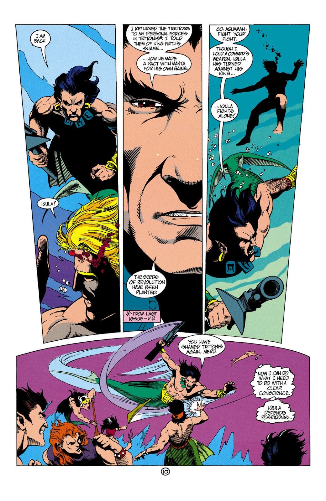Aquaman (1991) Issue #6 #6 - English 11
