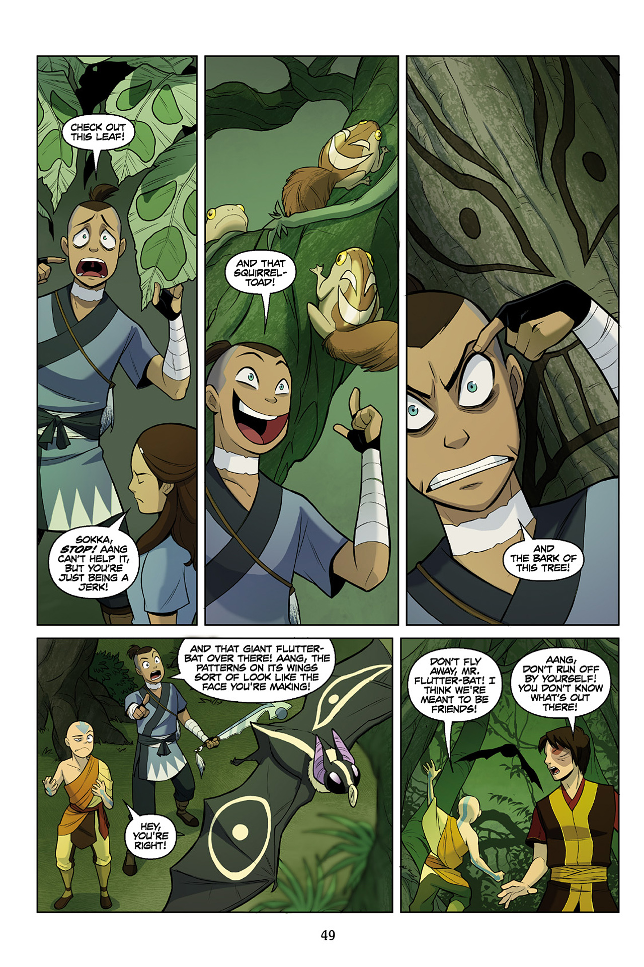 Read online Nickelodeon Avatar: The Last Airbender - The Search comic -  Issue # Part 2 - 50