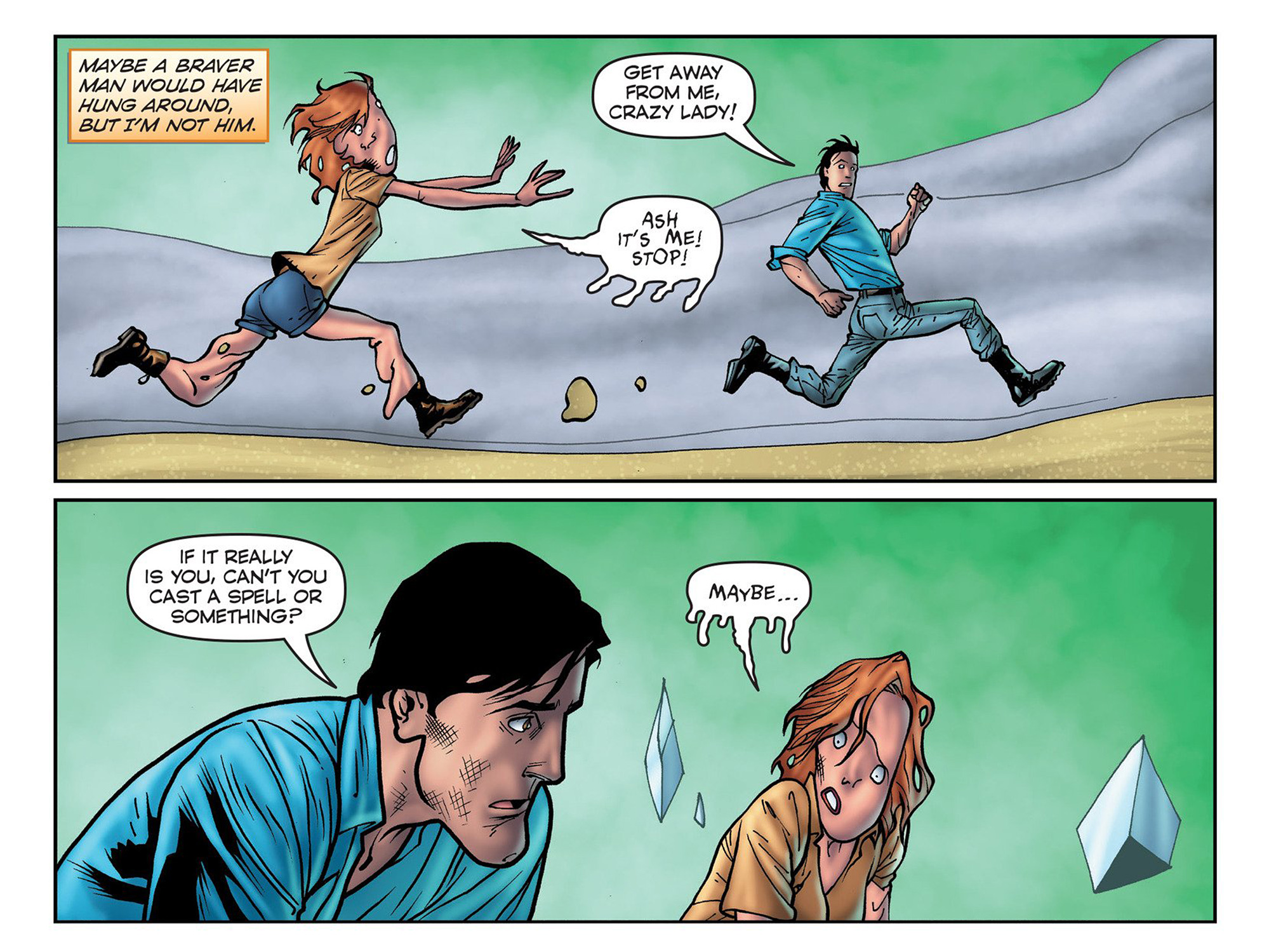 Read online Evil Dead 2: Cradle of the Damned comic -  Issue #3 - 12
