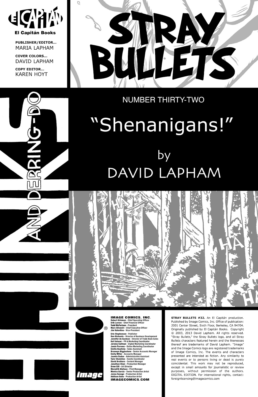 Stray Bullets Issue #32 #32 - English 2