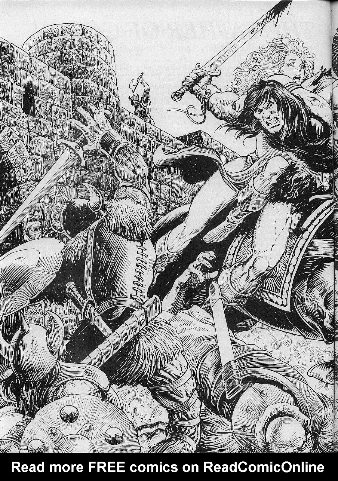 The Savage Sword Of Conan Issue #200 #201 - English 60