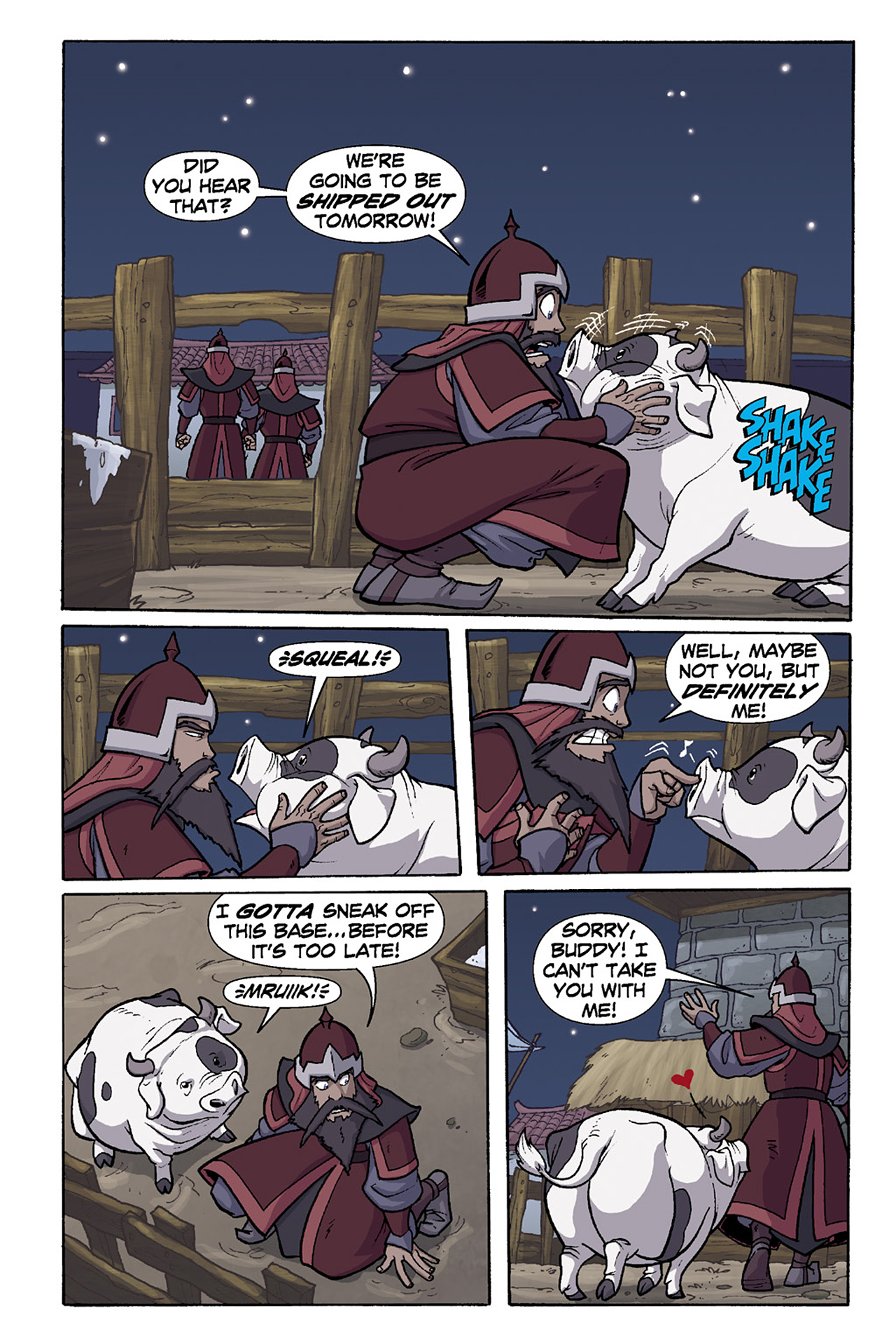 Nickelodeon Avatar: The Last Airbender - The Lost Adventures chap full pic 128
