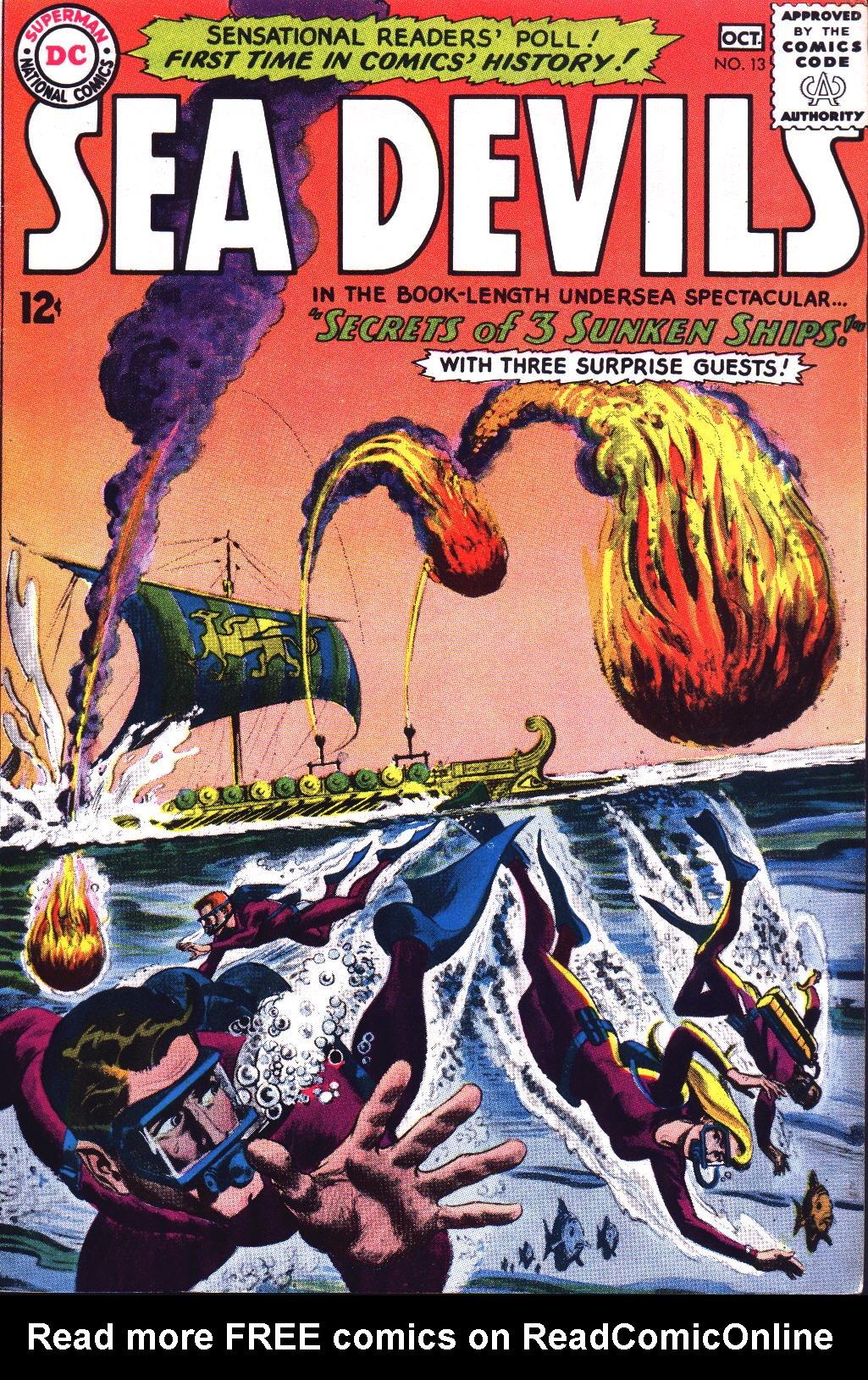 Read online Sea Devils comic -  Issue #13 - 1