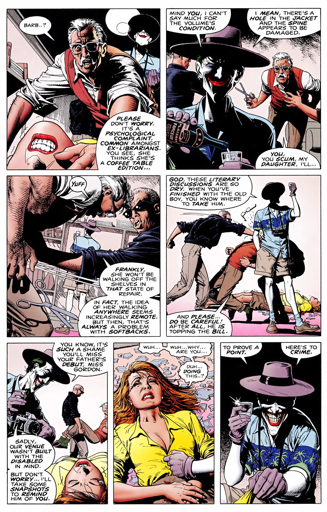 Batman: The Killing Joke chap 1 pic 20