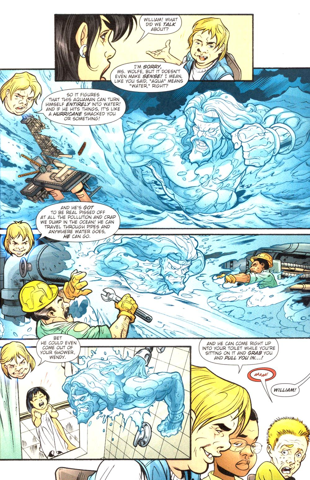 Aquaman (2003) Issue #14 #14 - English 7