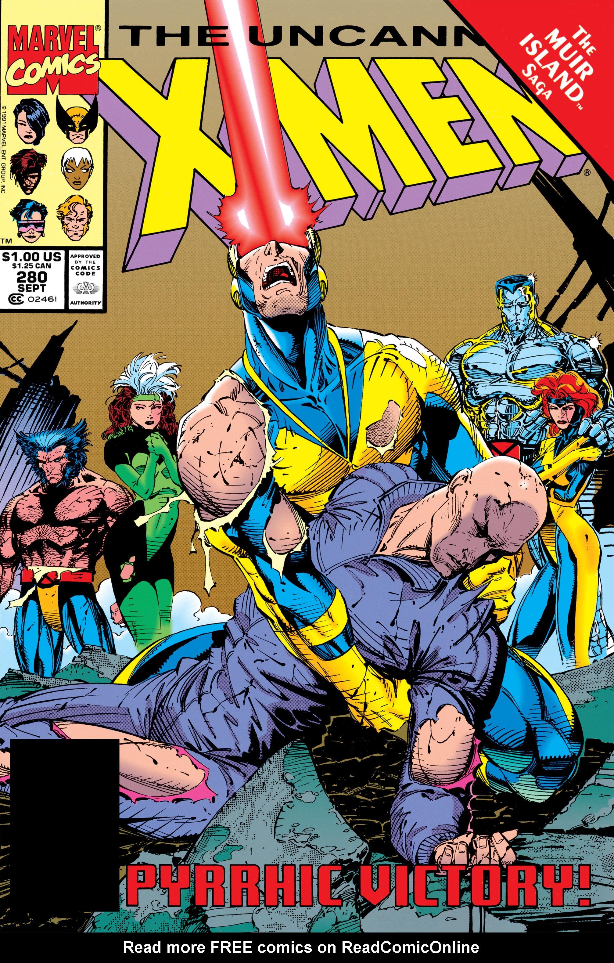 Uncanny X-Men (1963) 280 Page 1